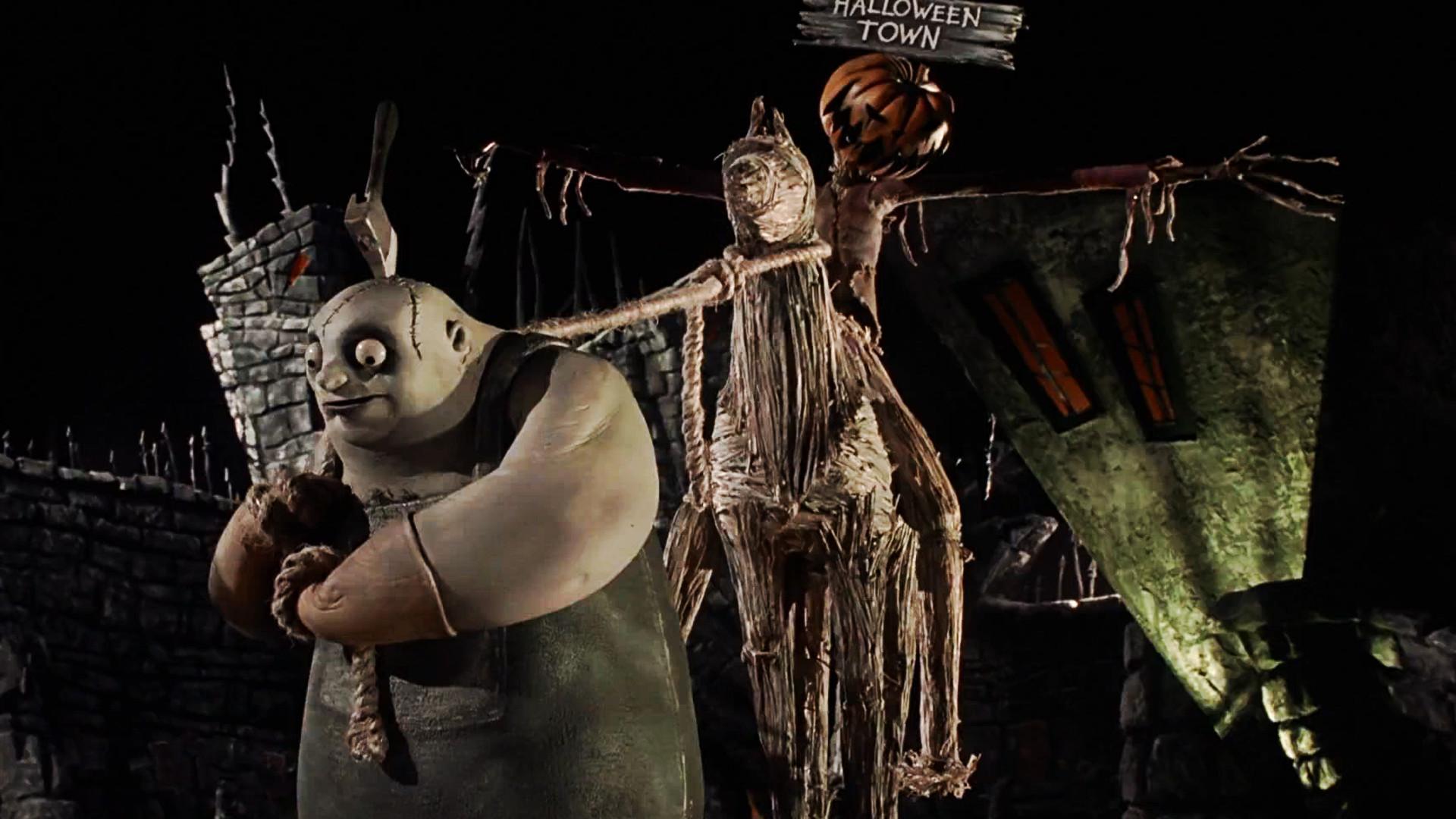 Jack Skellington being scary. Jack Celebrating Halloween Nightmare Before  Christmas Wallpaper