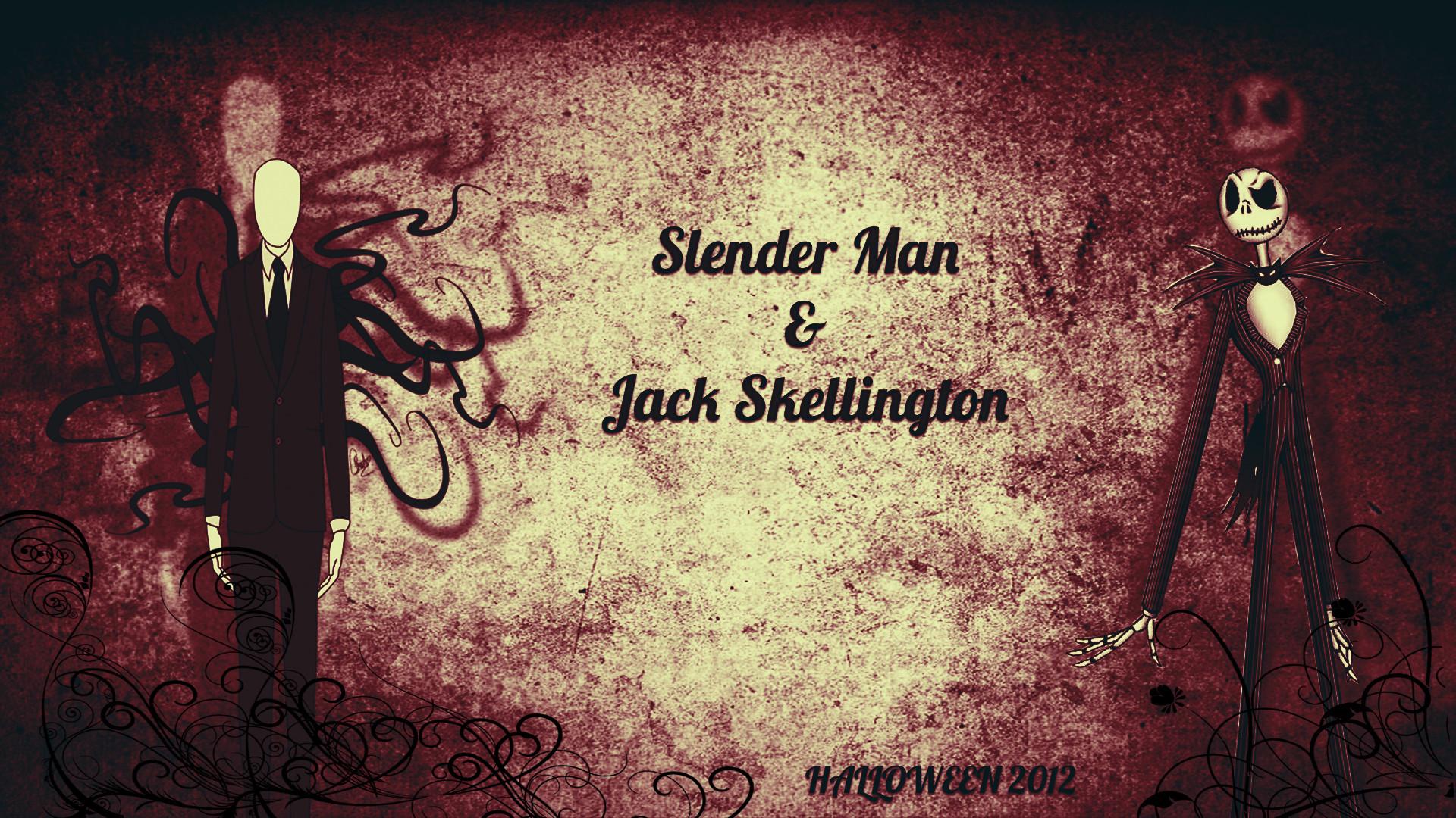 … BreakerDesignDLC Slender Man And Jack Skellington (Halloween 2012) by  BreakerDesignDLC
