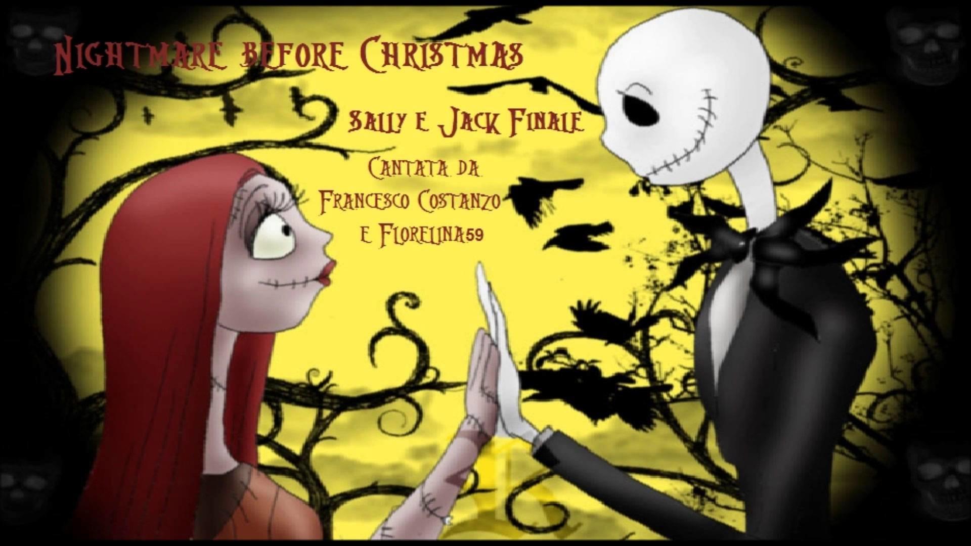 Nightmare before Christmas) Sally e Jack finale (Duetto con .