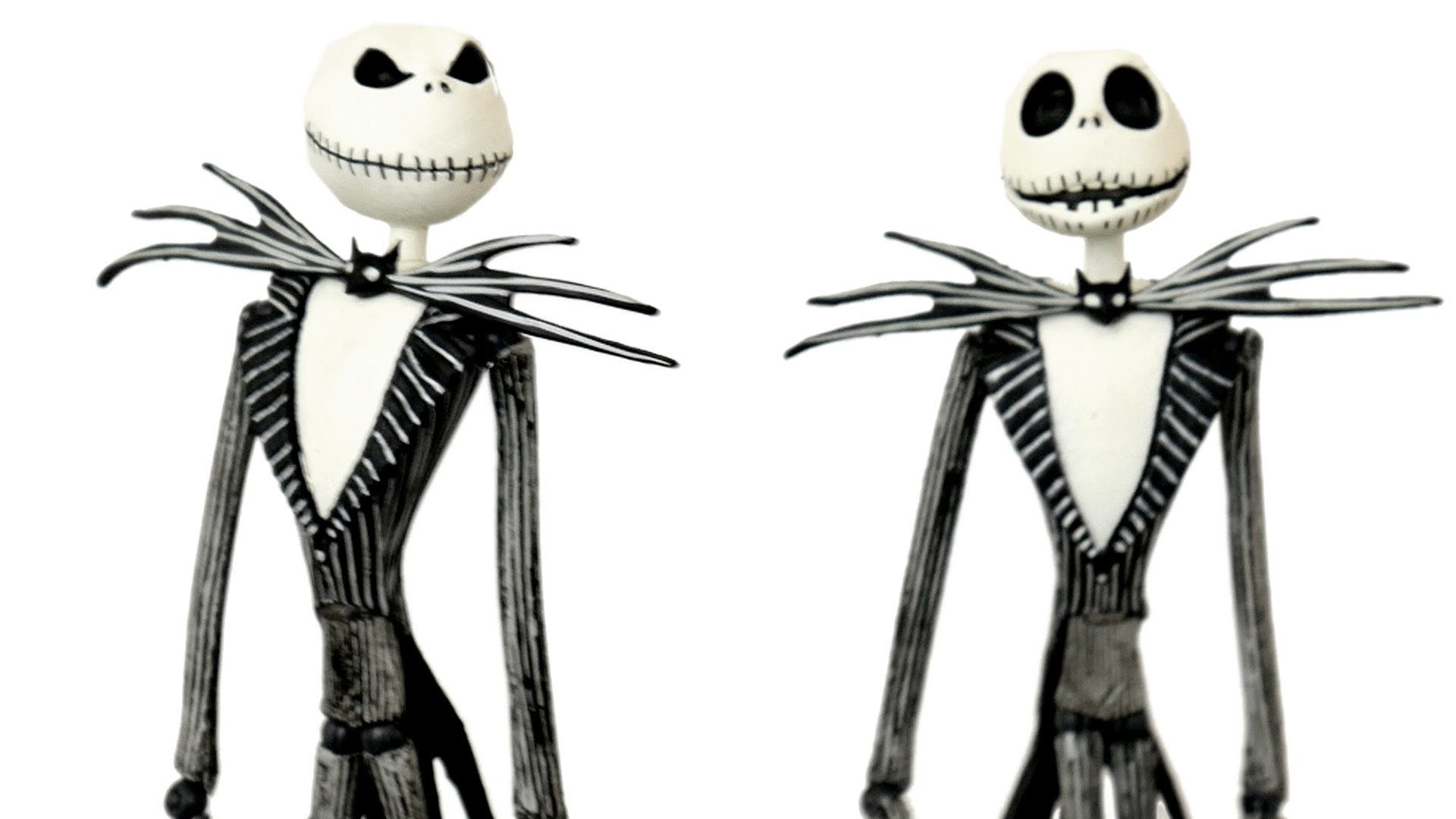 Jack Skellington Nightmare Before Christmas Toys R Us Exclusive Toy  Unboxing, Comparison & Review!! – YouTube