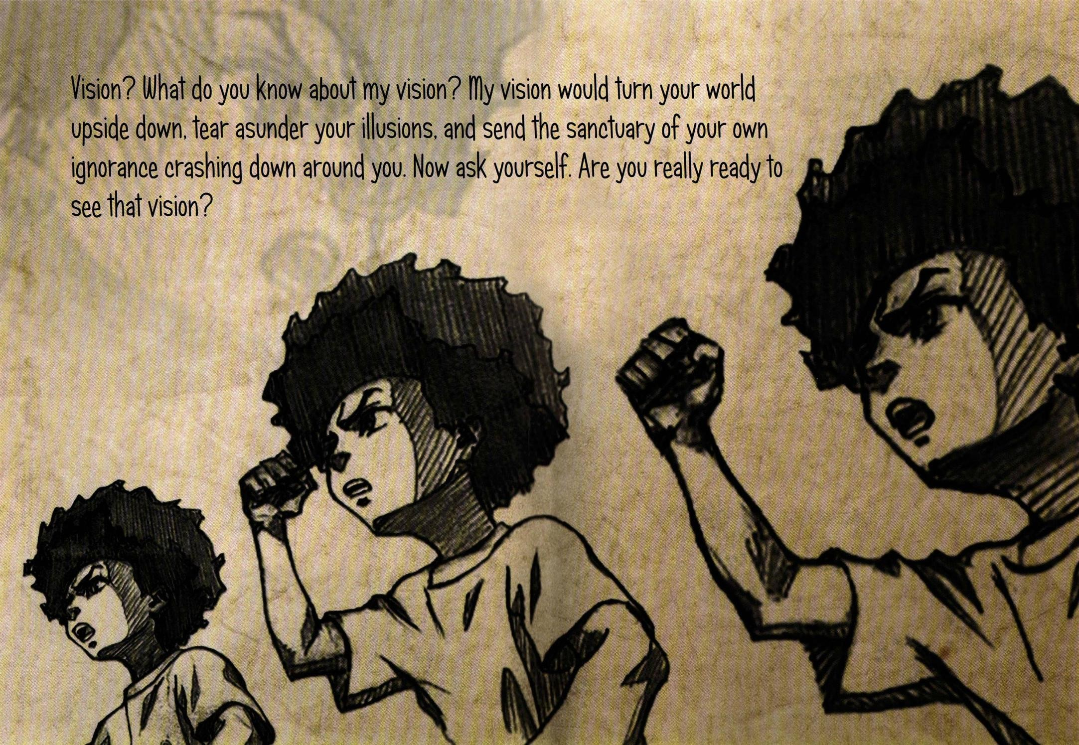 17 Best images about The Boondocks on Pinterest   deviantART, Blog and  Cartoon