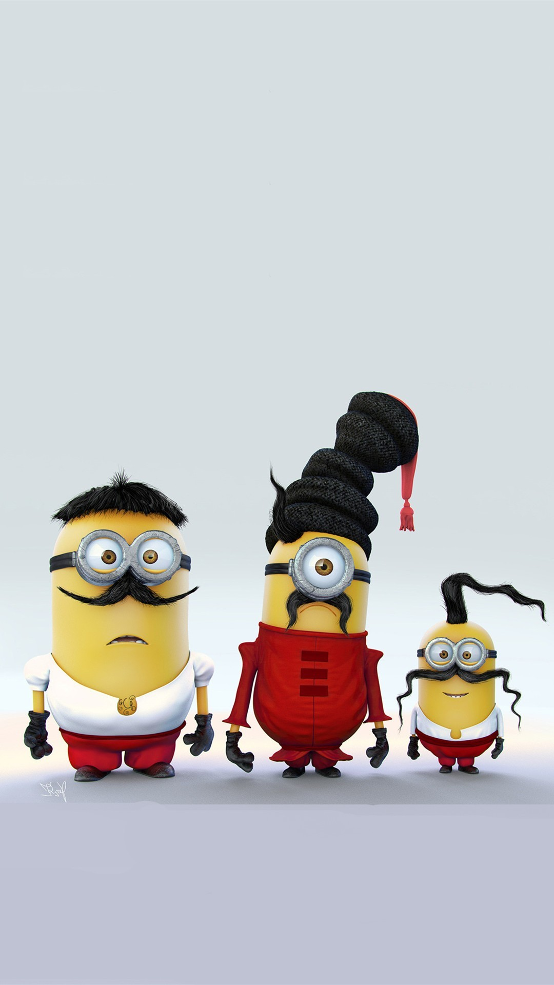 Minions with Mustache Family iPhone 6 Plus Wallpaper – HD, 2014 Halloween,  Despicable Me