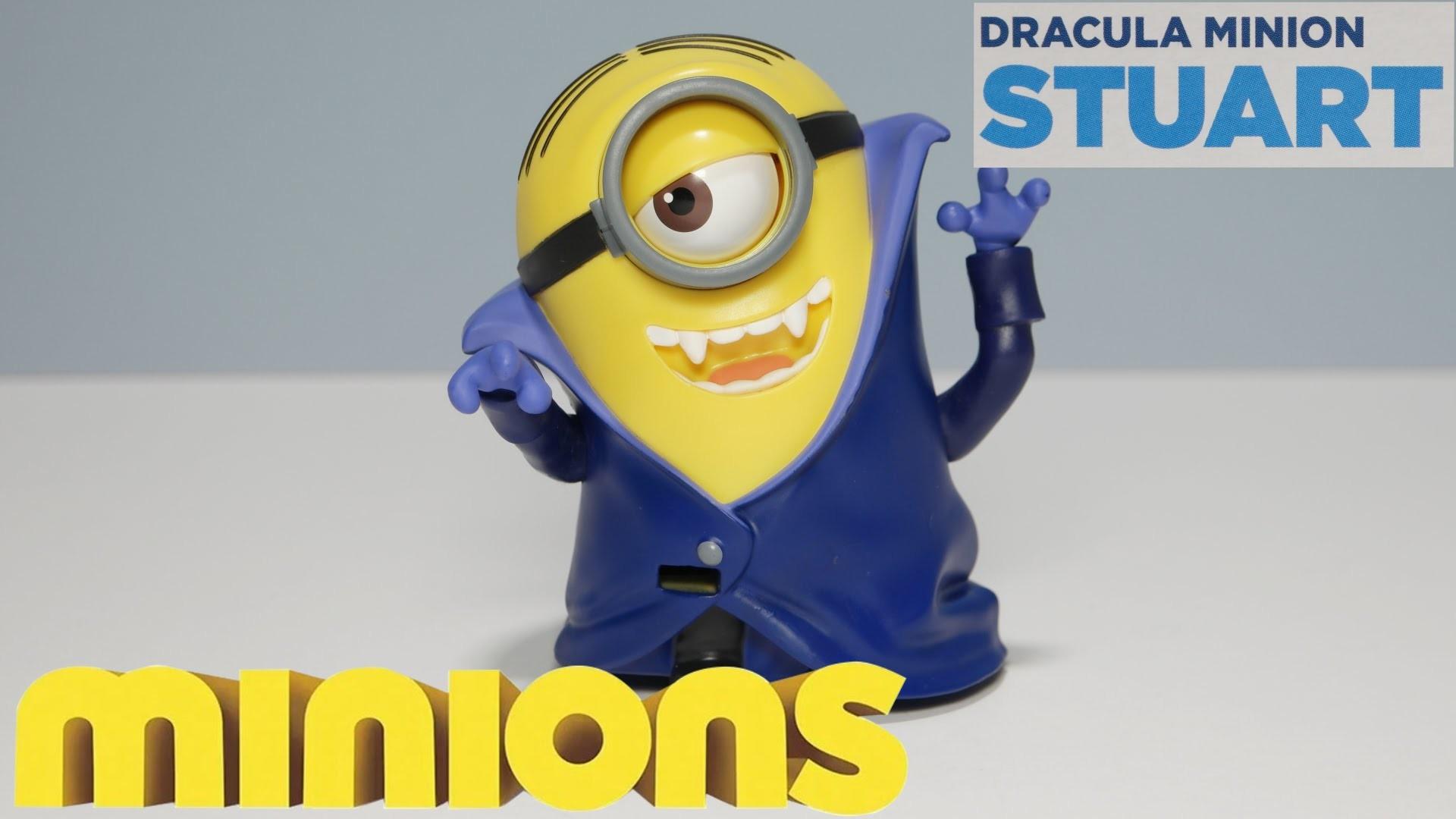 DRACULA MINION STUART – New 2015 Minions Movie Exclusive Toys UHD 4K –  YouTube