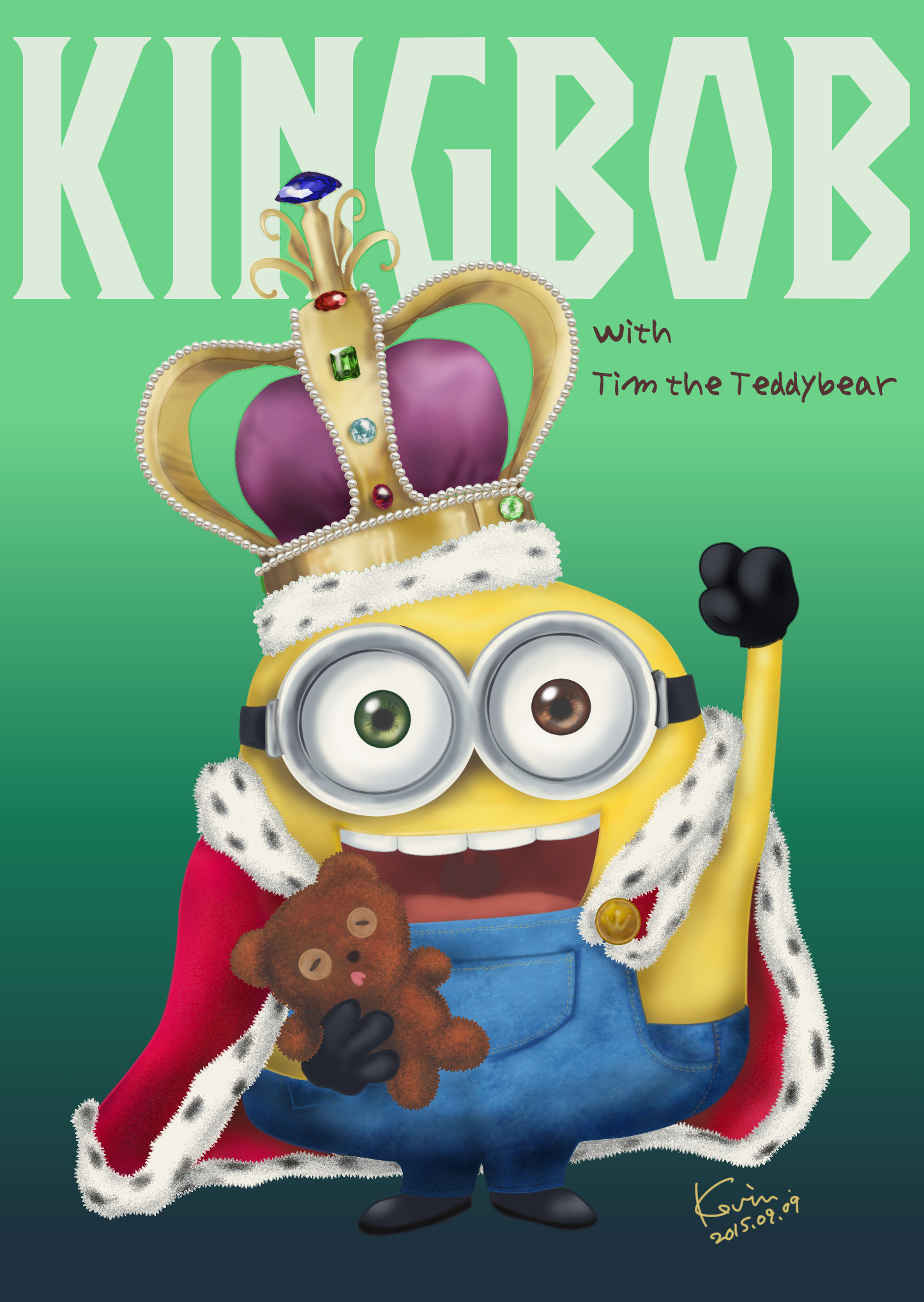 … King]Bob the Minion by DiabolicKevin