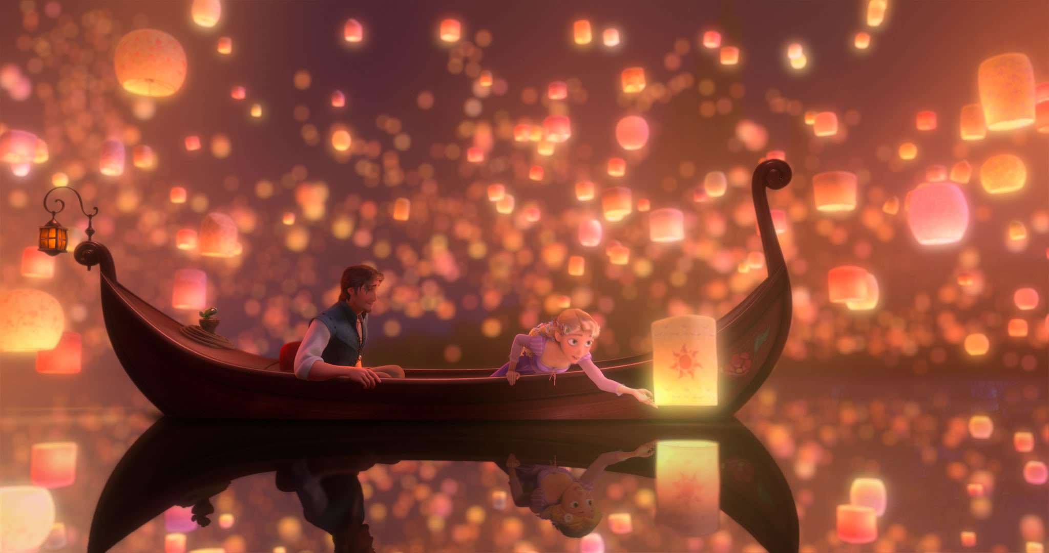 Disney Challenge Question Most Magical Moment – The lantern scene in Tangled  was so magical for me! There didn't need to be magic wands or fairy  dust–the …