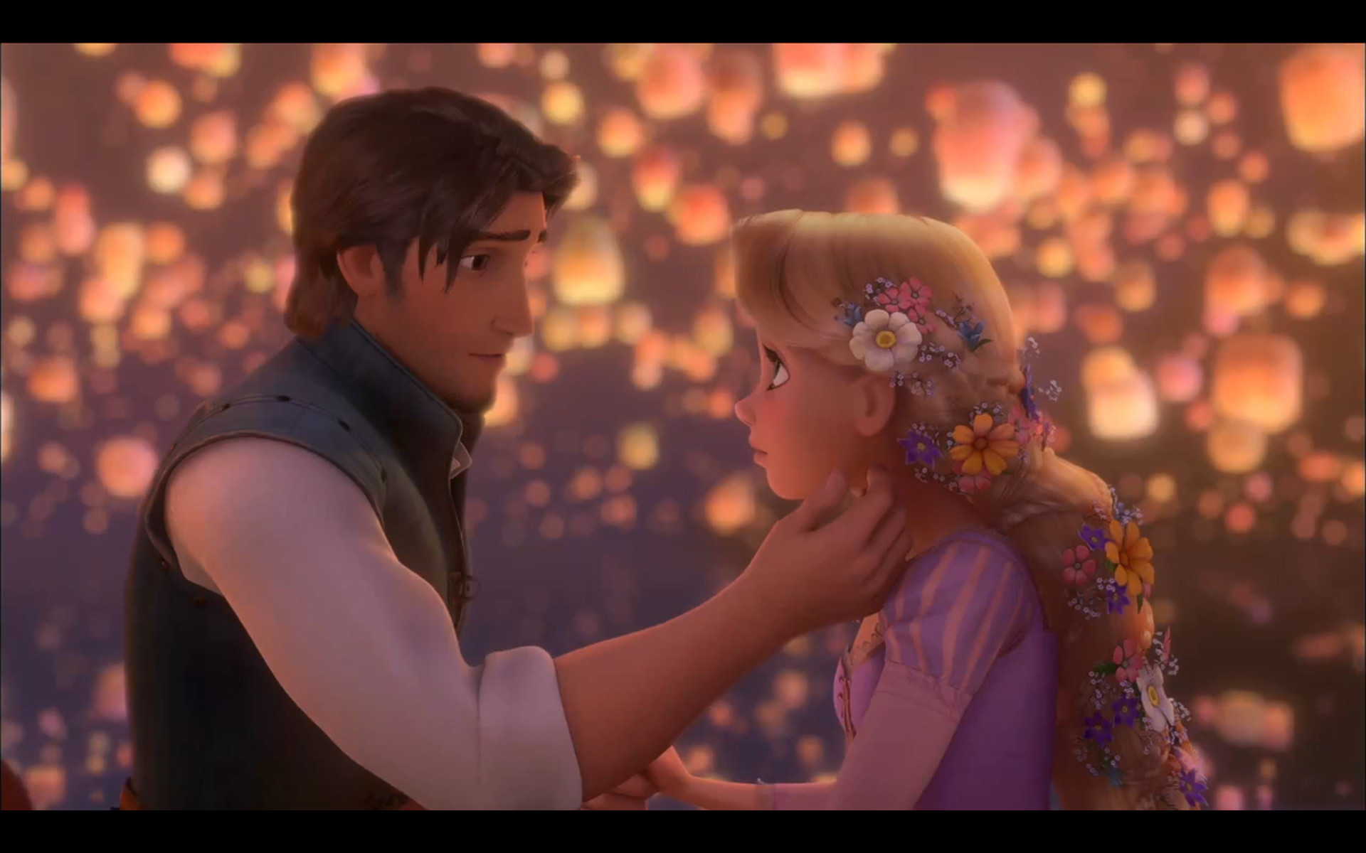 Tangled Rapunzel and Flynn