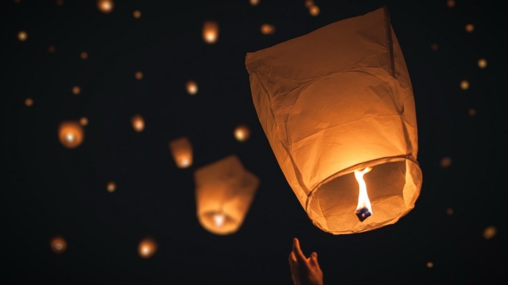 Tangled Floating Lanterns Desktop Wallpaper – WallpaperSafari