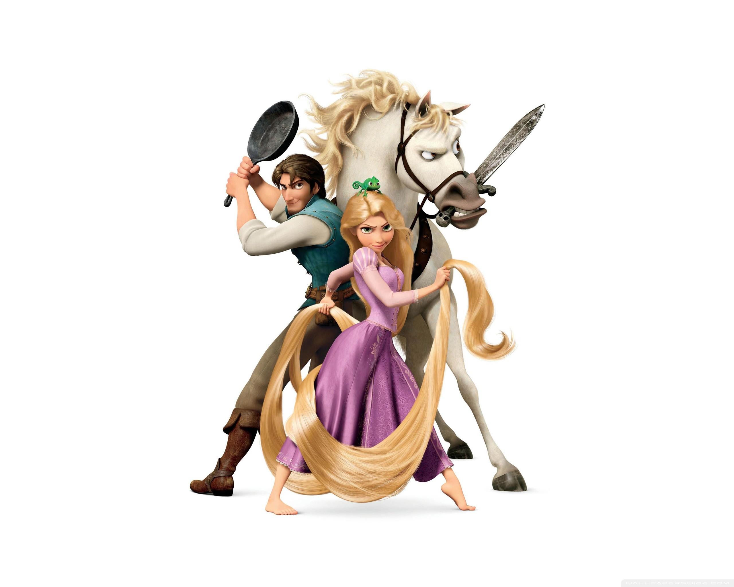 Tangled Disney Rapunzel And Flynn Ryder HD Wide Wallpaper for Widescreen