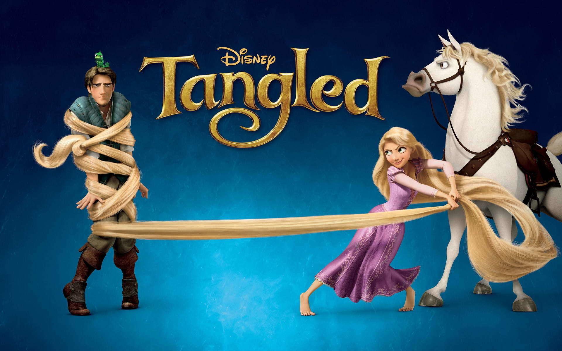 Disney Tangled Desktop Wallpapers | PixelsTalk.Net
