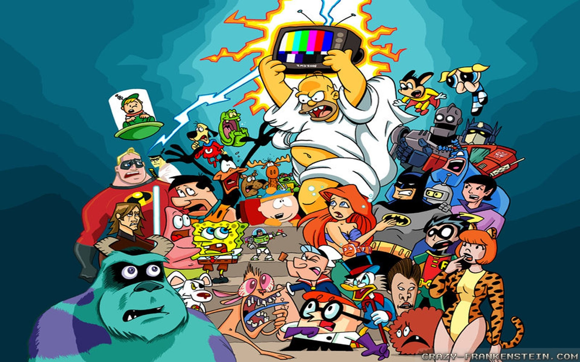 All Cartoon Characters