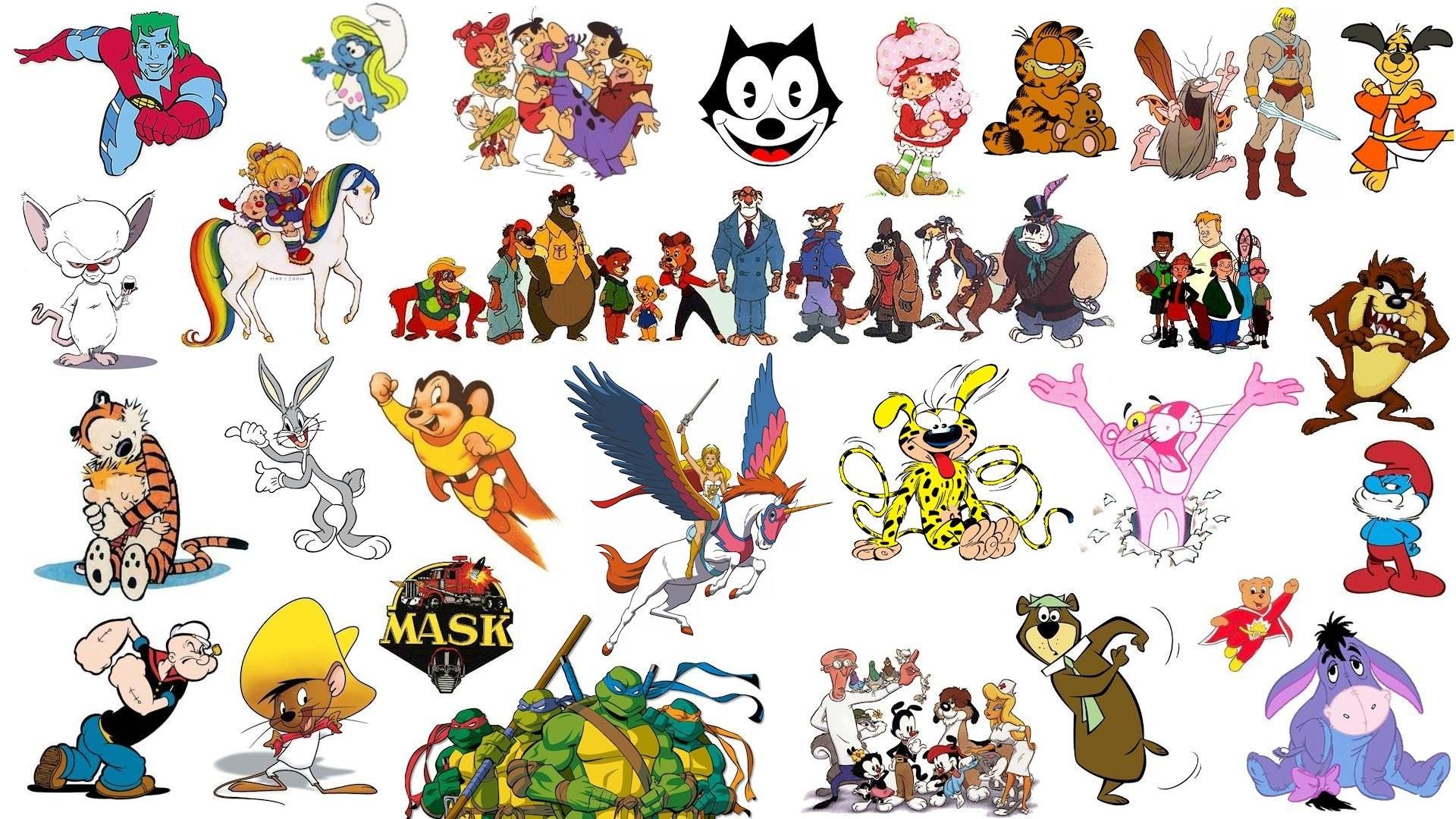 Classic Cartoons – Wallpaper