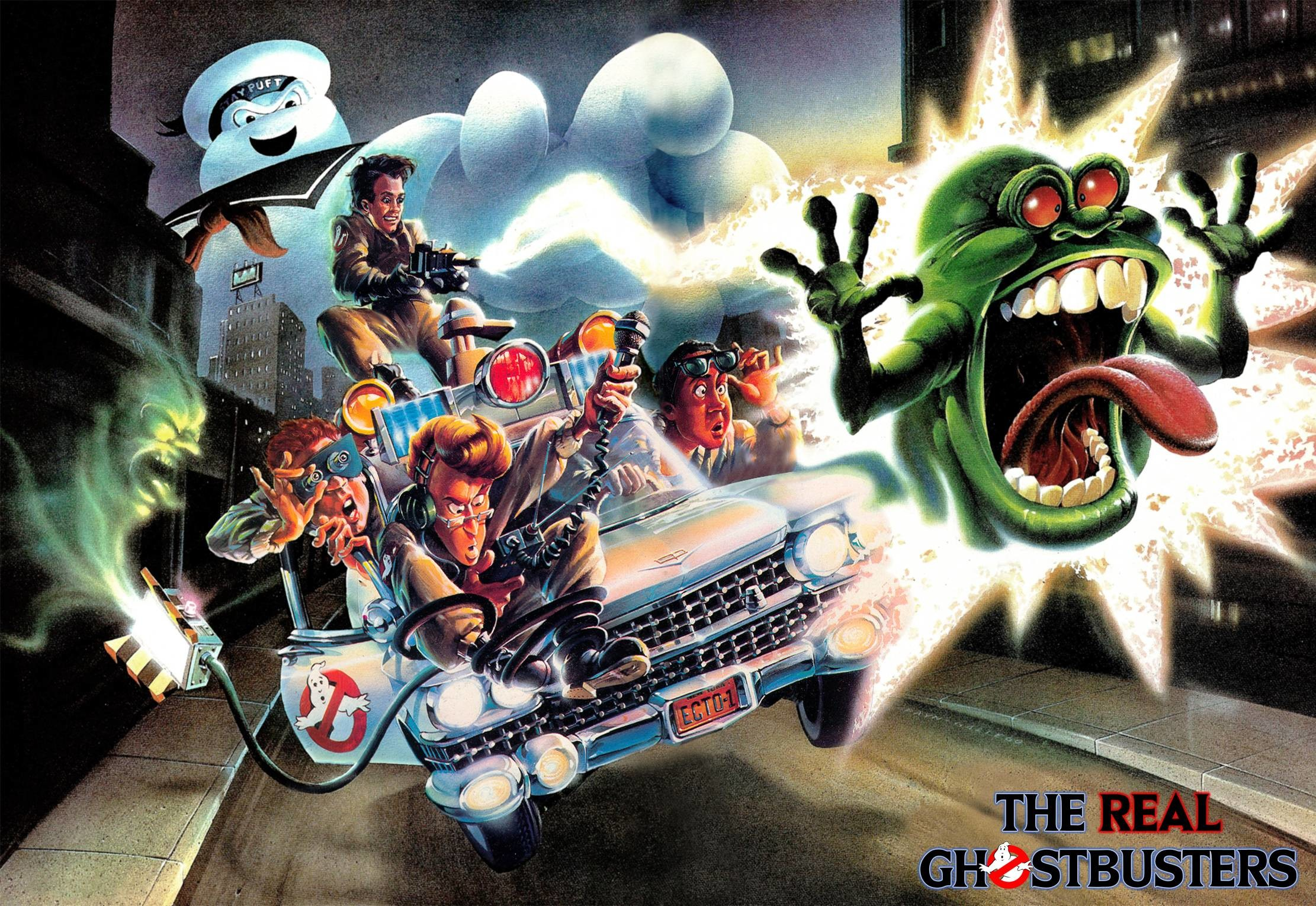 Cartoon Excellence – The Real Ghostbusters