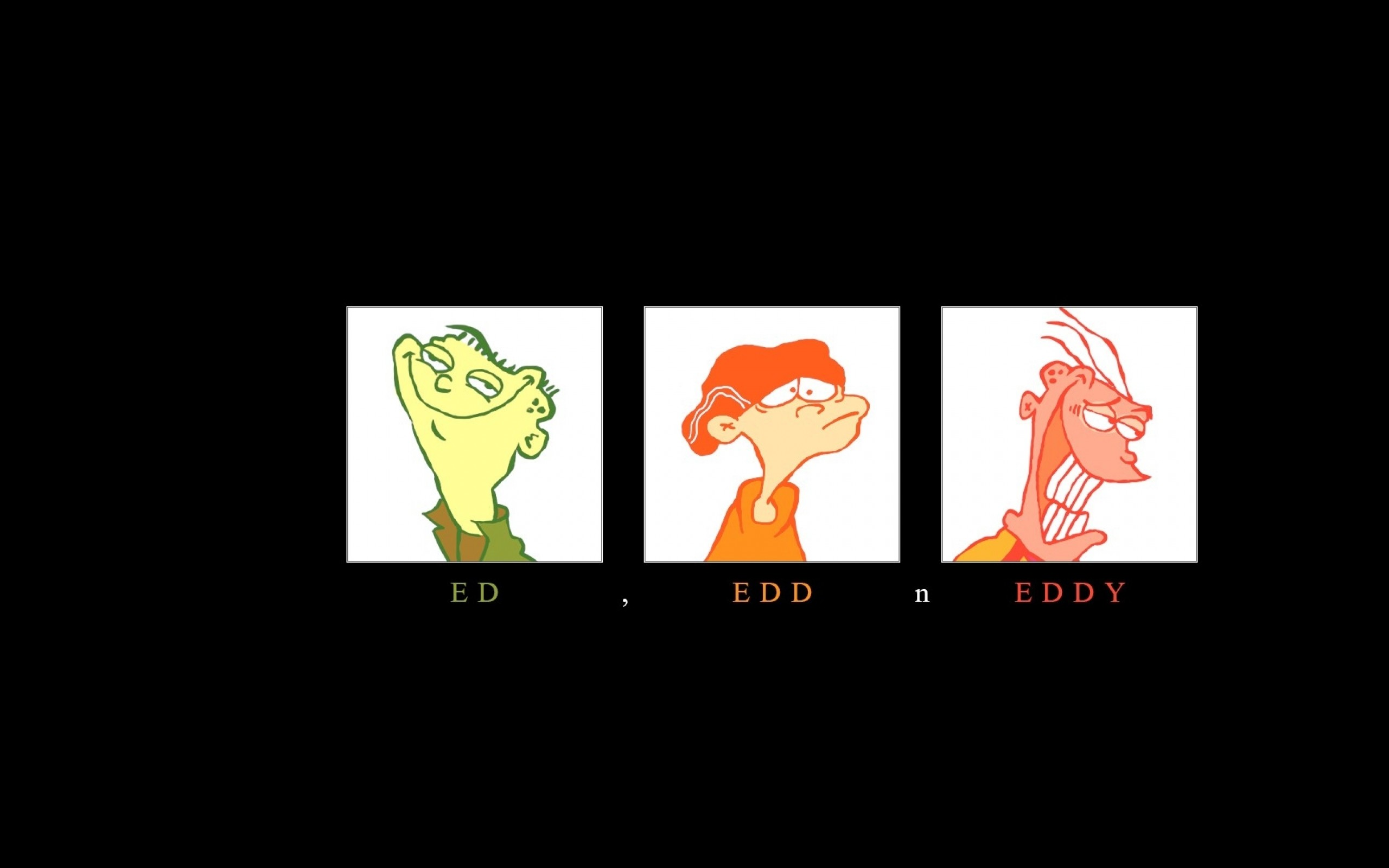 cartoons cartoon network ed ed edd n eddy eddy plain 70s style nineties 80s  Wallpaper HD