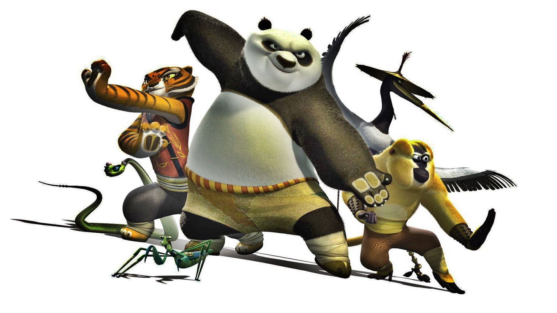 Cartoon Kung Fu Panda HD Wallpapers