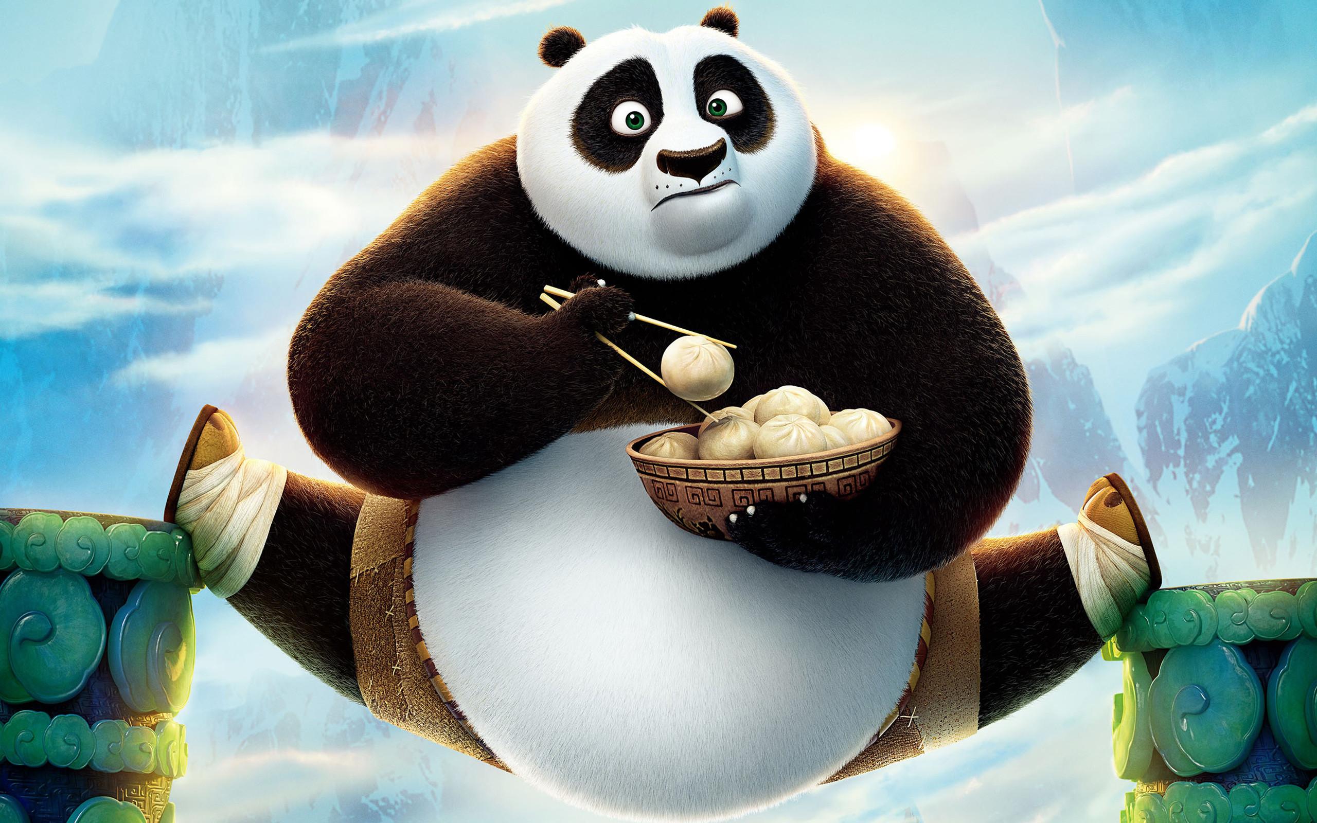 Cute Kung Fu Panda 3 Wallpaper