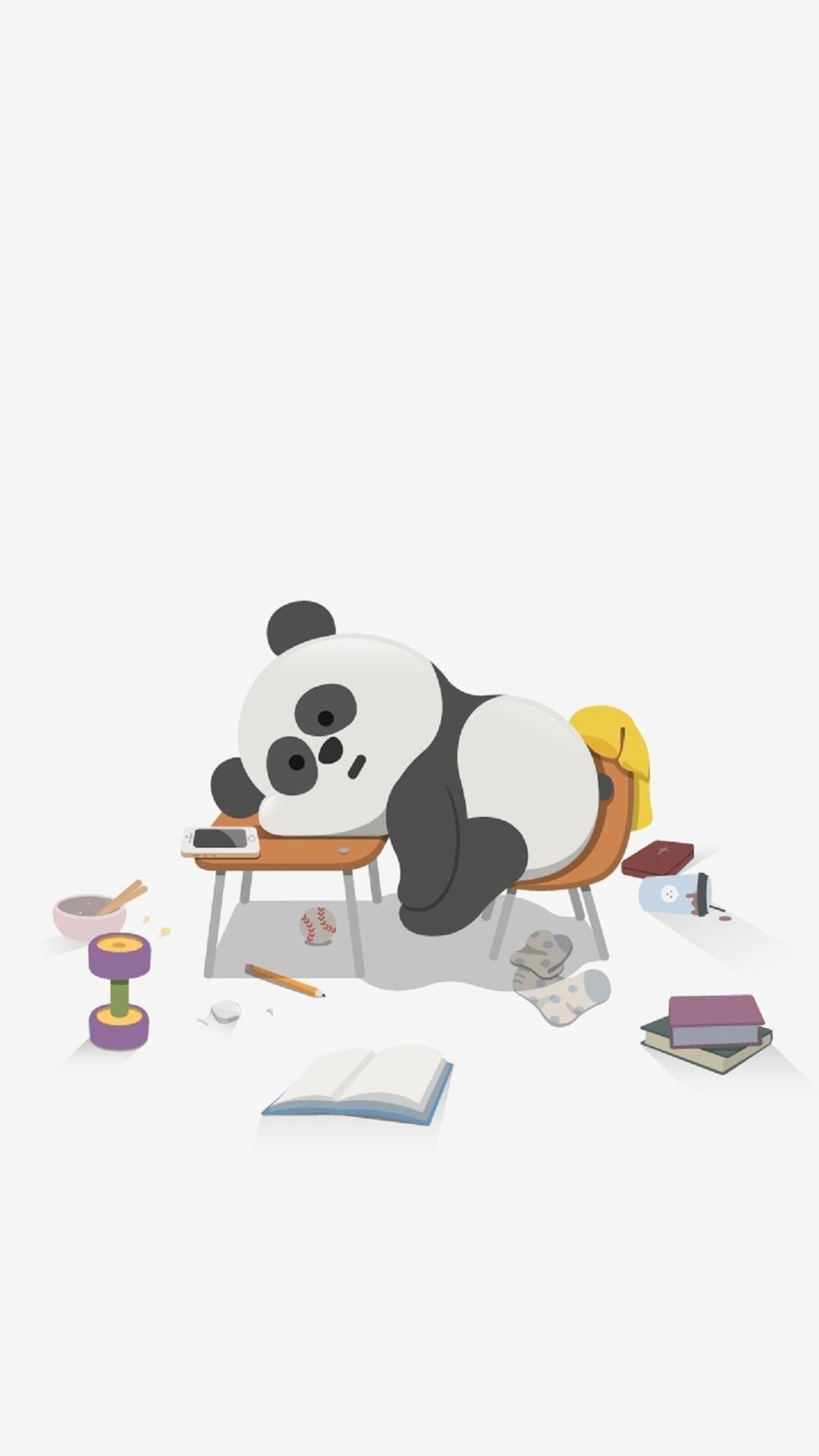 Cute-Sleepy-Panda-Cute-Animal-iPhone-Tap-to-