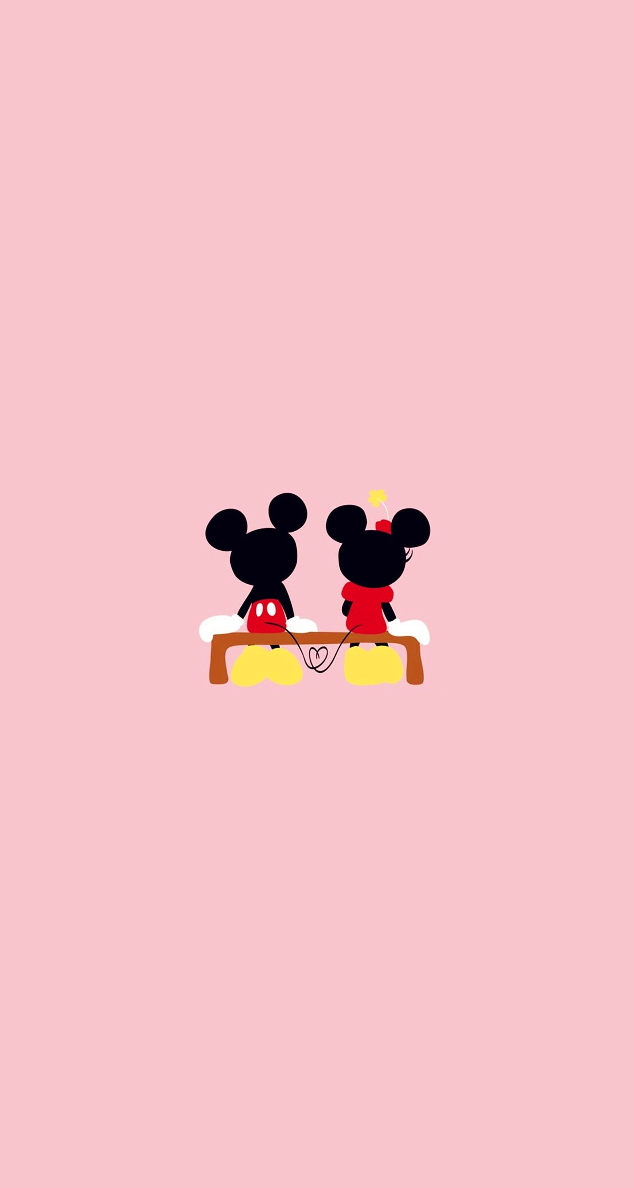Disney Mouse, Walt Disney, Pretty Wallpapers, Iphone Wallpapers, Iphone  Backgrounds, Cellphone Wallpaper, Disney Wallpaper, Valentines Day, Emojis