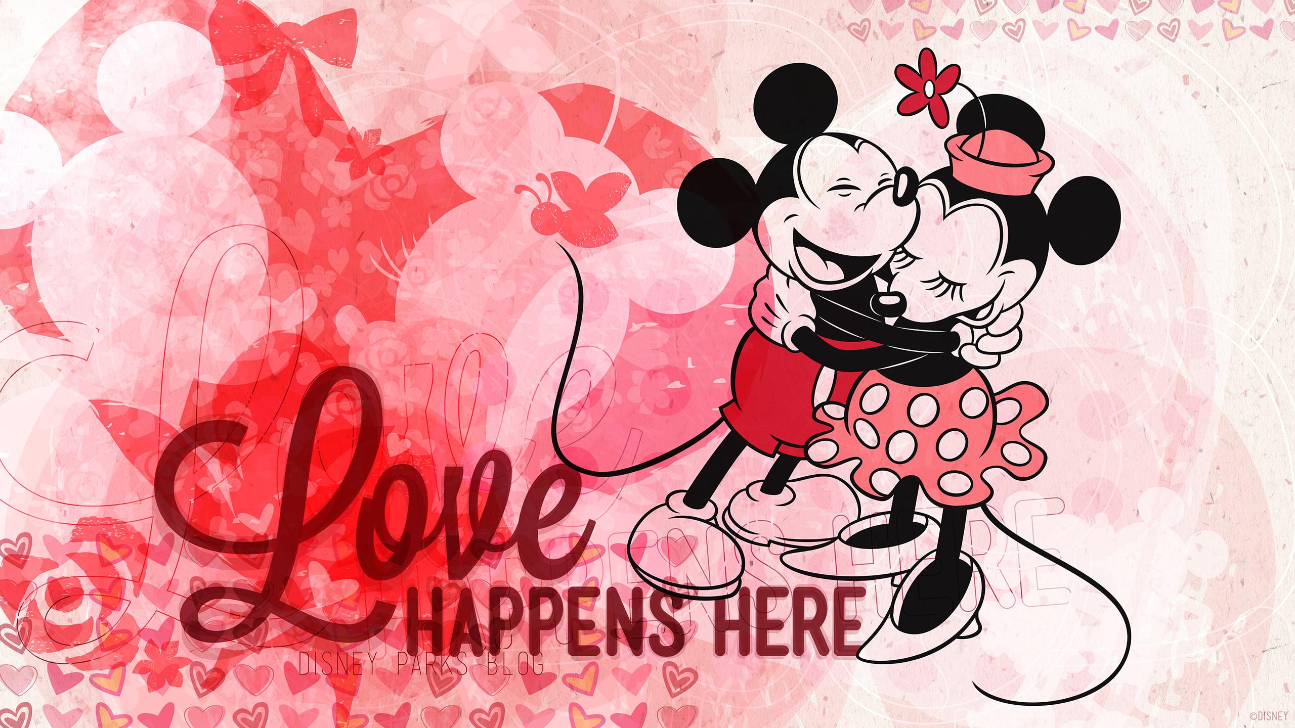 Mickey & Minnie Celebrate Valentine's Day
