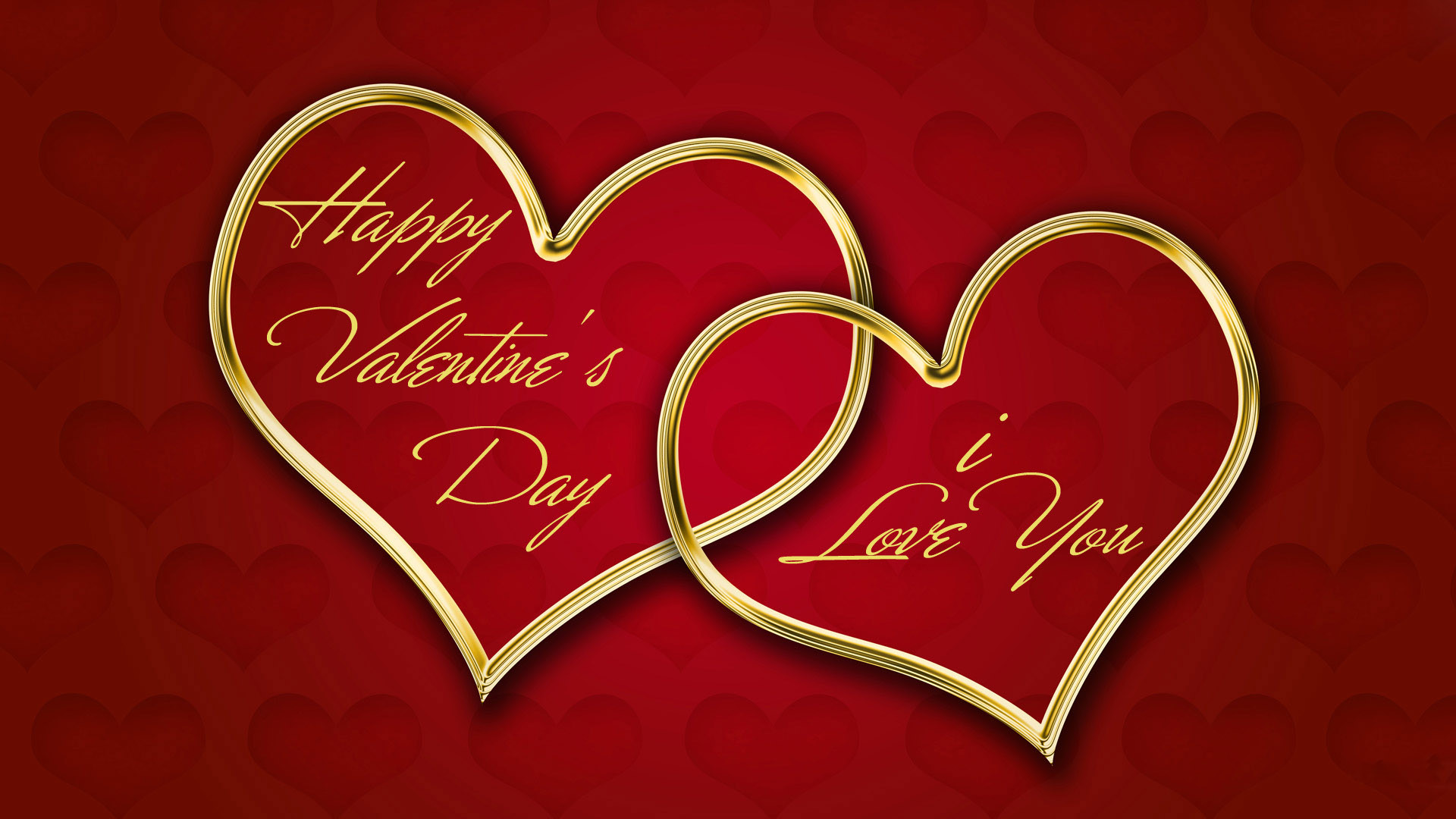 Happy Valentines Day Red Wallpaper HD