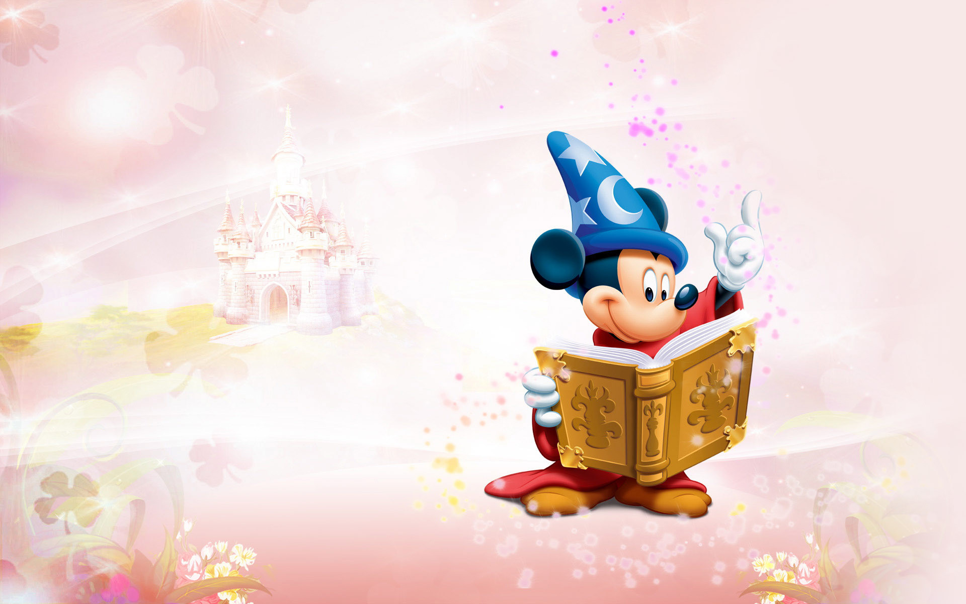 Magic Mickey Mouse Wallpaper.