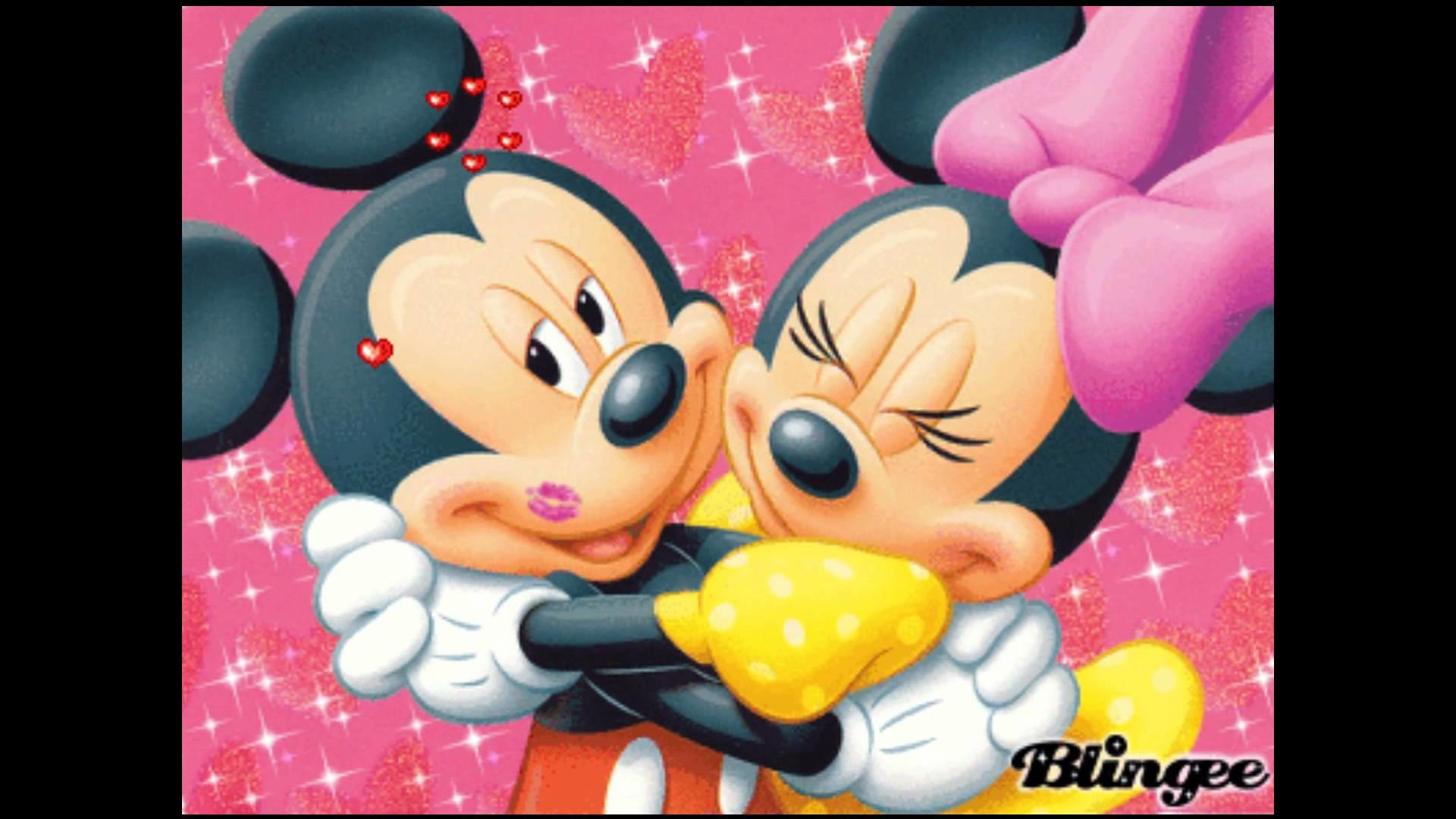 Mickey and Minnie Mouse I Will Always Love You By Whitney Houston