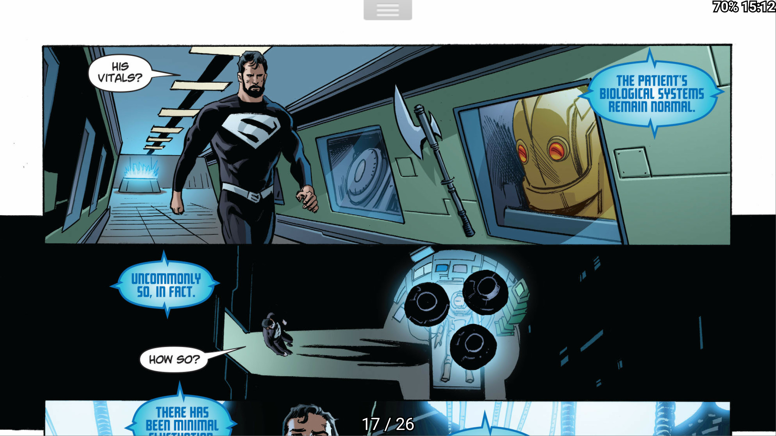 ComicsThe Iron Giant easter egg [Superman & Lois #03] …