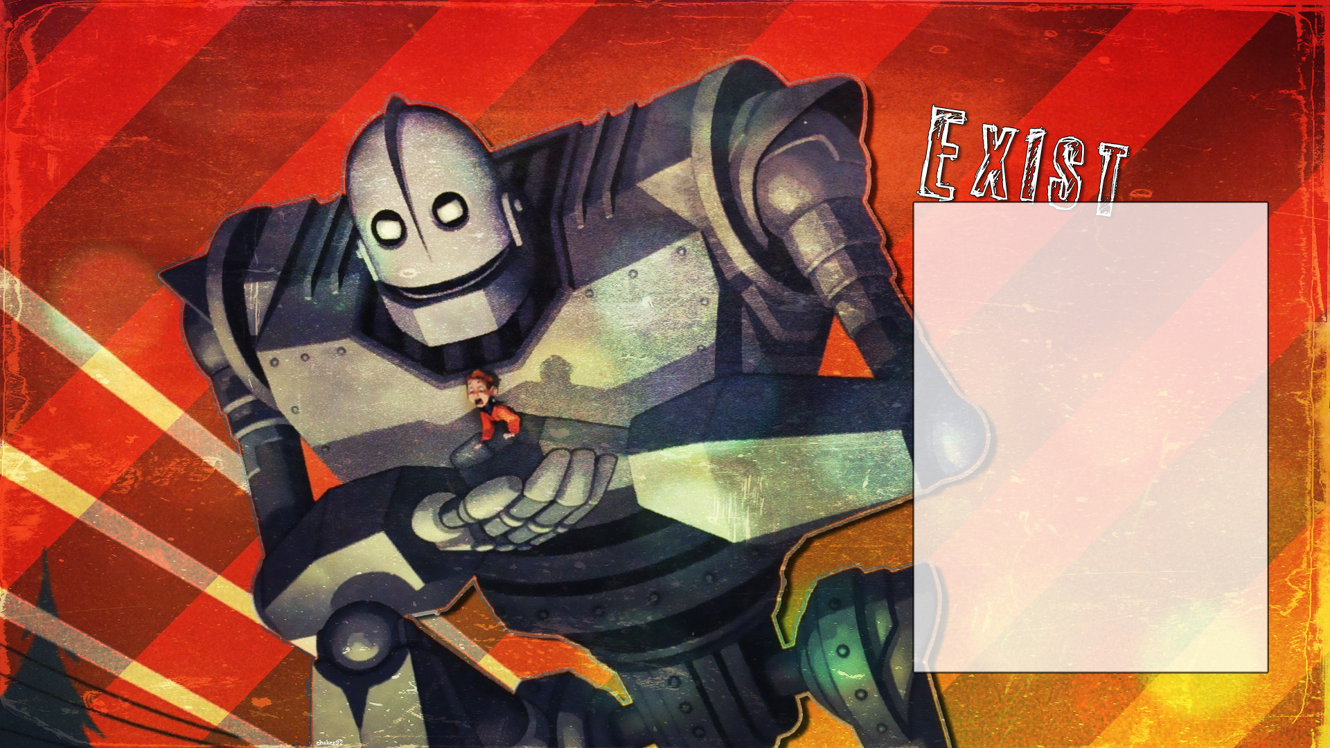 … Iron Giant by cake-baker