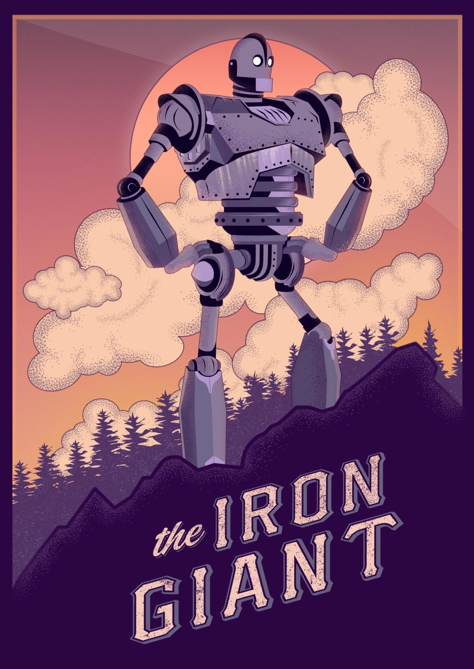 The Iron Giant (1999) HD Wallpaper From Gallsource.com