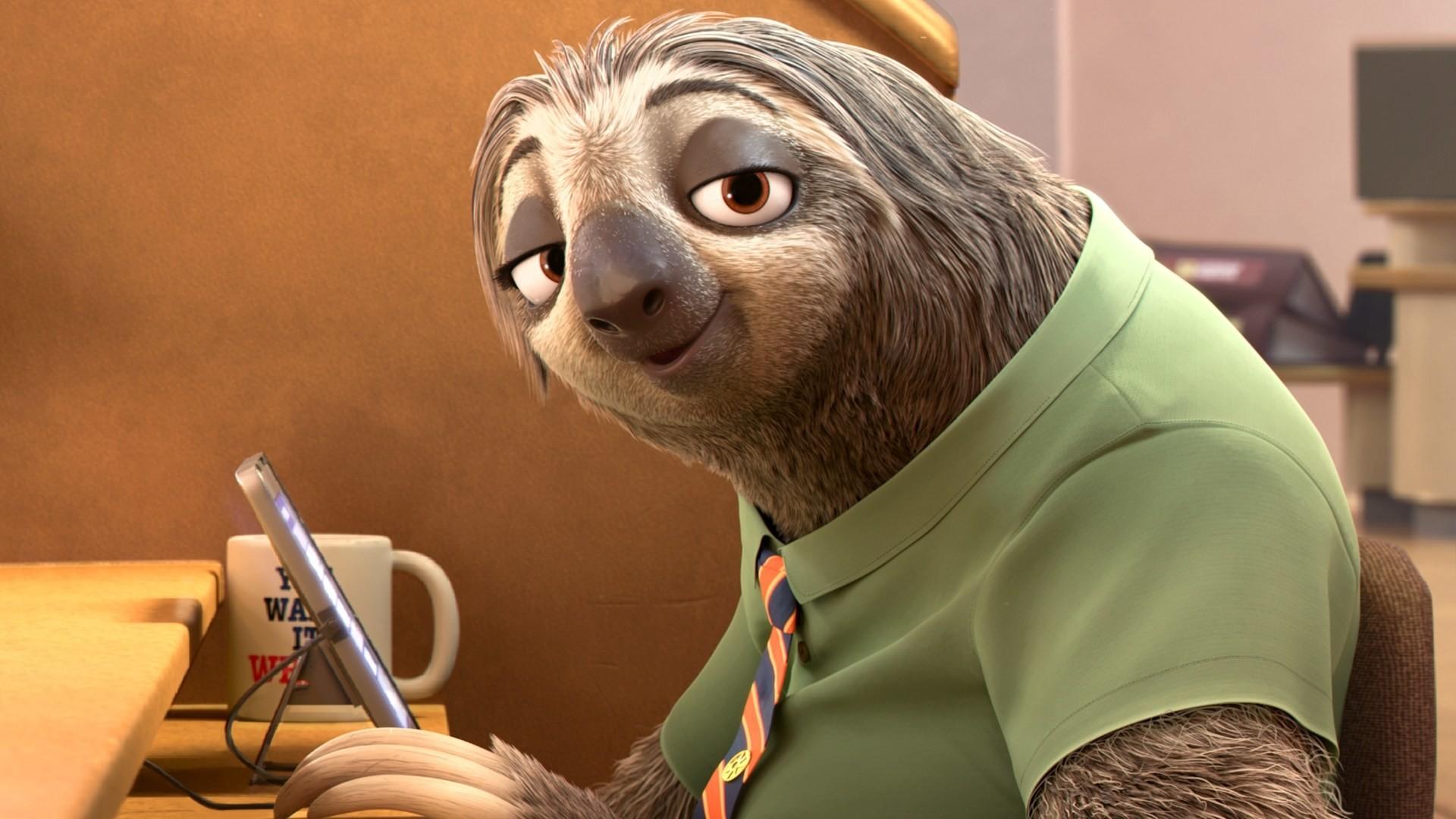 Zootopia Flash Slothmore 1080p HD Wallpaper Background