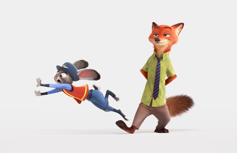 2016 Zootopia Animated Movie
