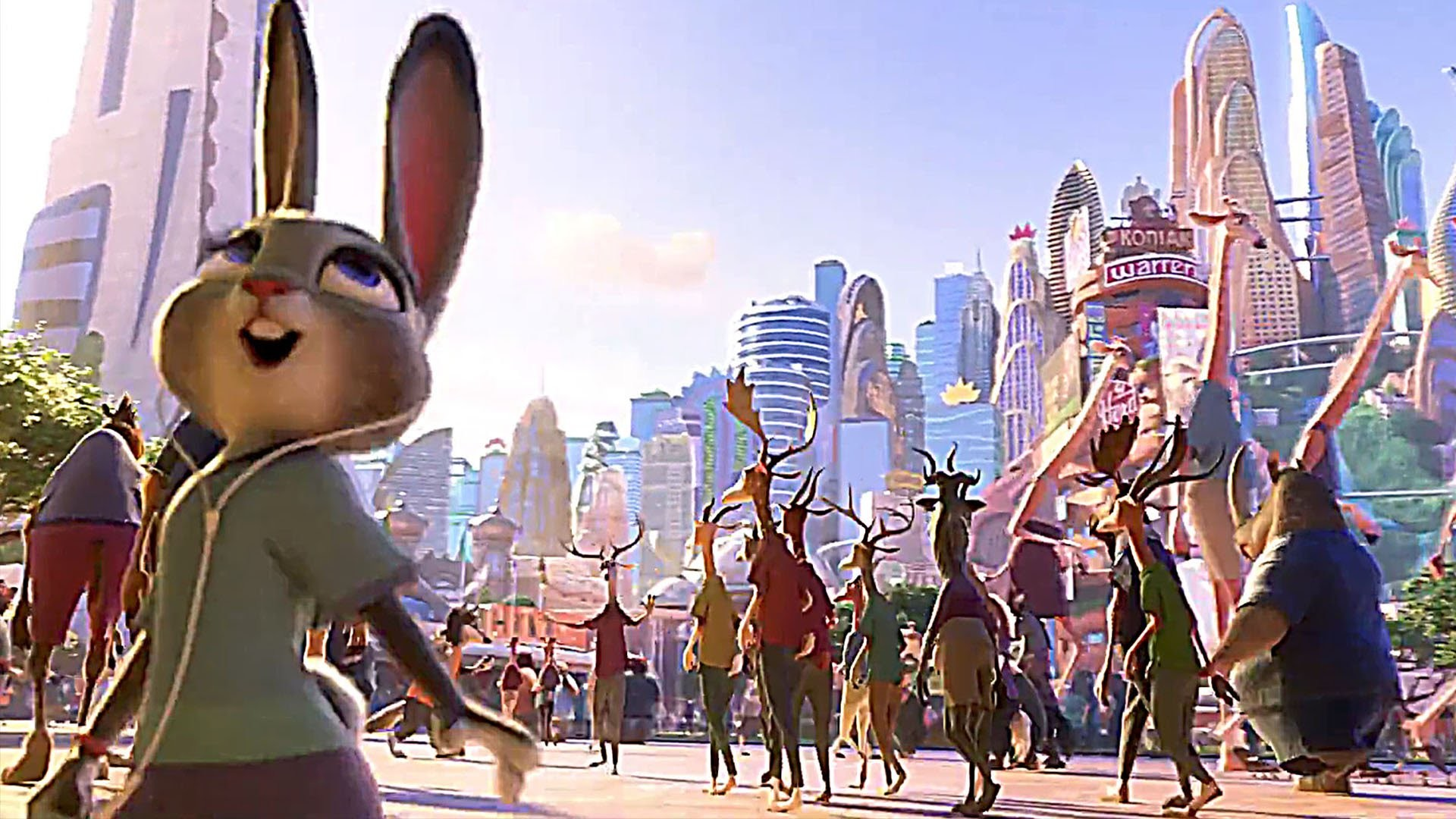 """Welcome to ZOOTOPIA with Shakira's """"Try Everything"""" ! – Movie Clip – YouTube"""