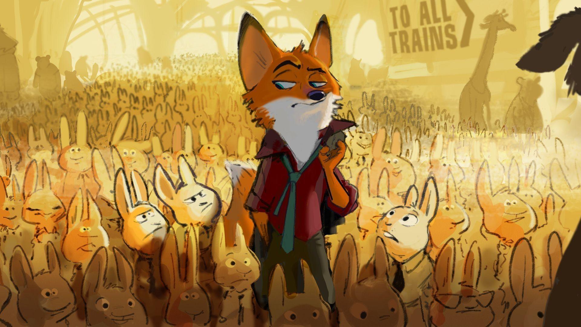 2016, zootopia, disney, zootopia movie, fox, hares .