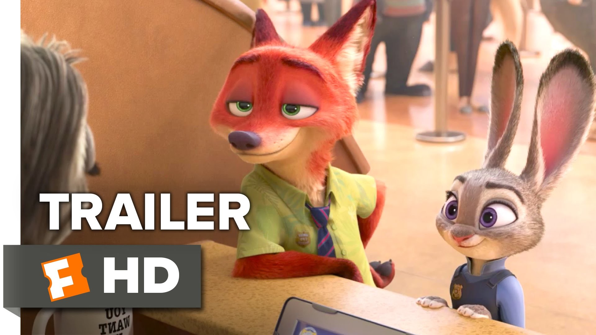 Zootopia Official Sloth Trailer (2016) – Disney Animated Movie HD – YouTube