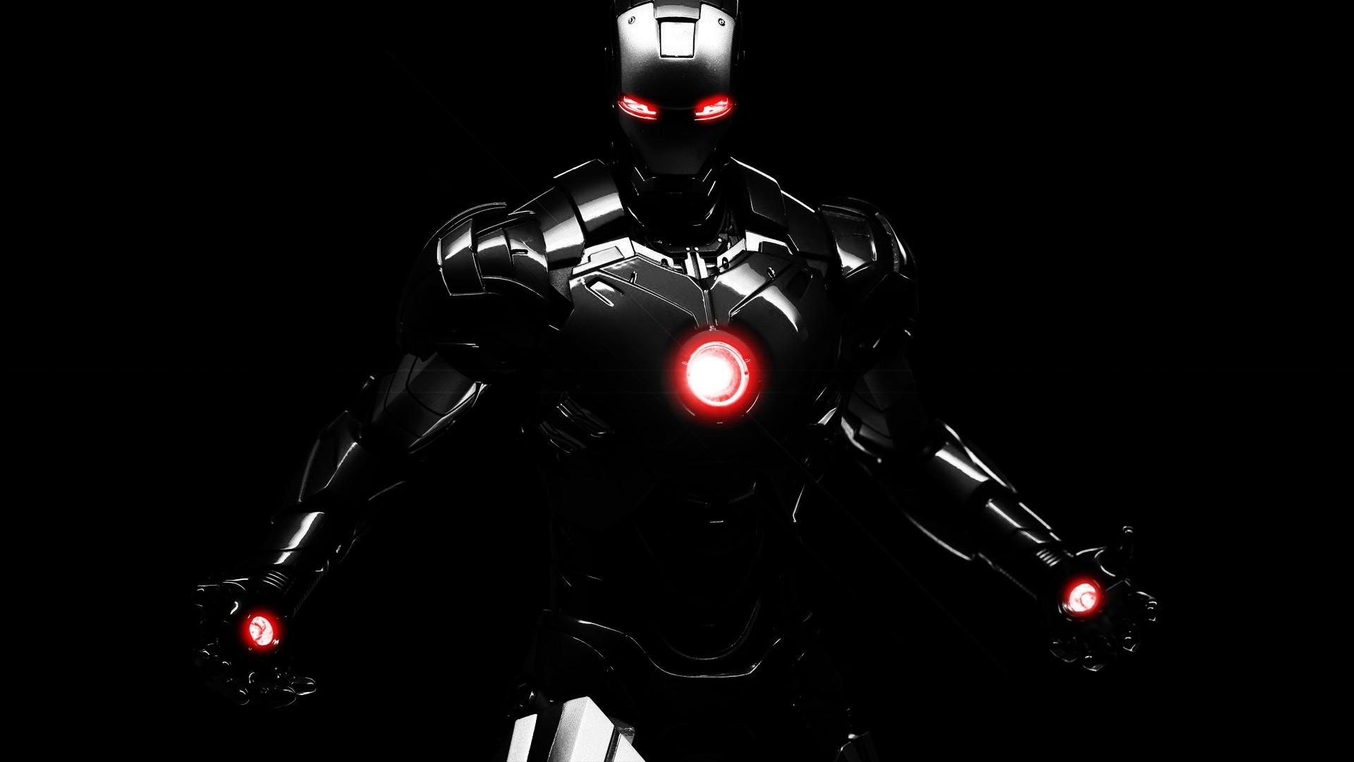 iron man 4 black hd wallpaper