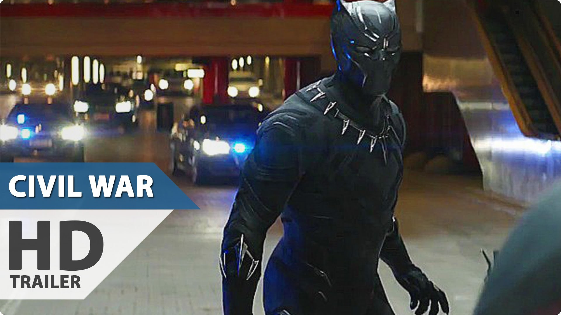 Captain America 3 Civil War NEW Movie Clip – Black Panther Chase (2016)  Marvel Movie HD – YouTube