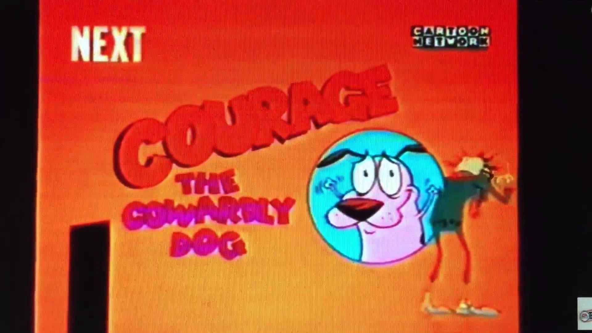 Cartoon Network UK Courage The Cowardly Dog Next 2000