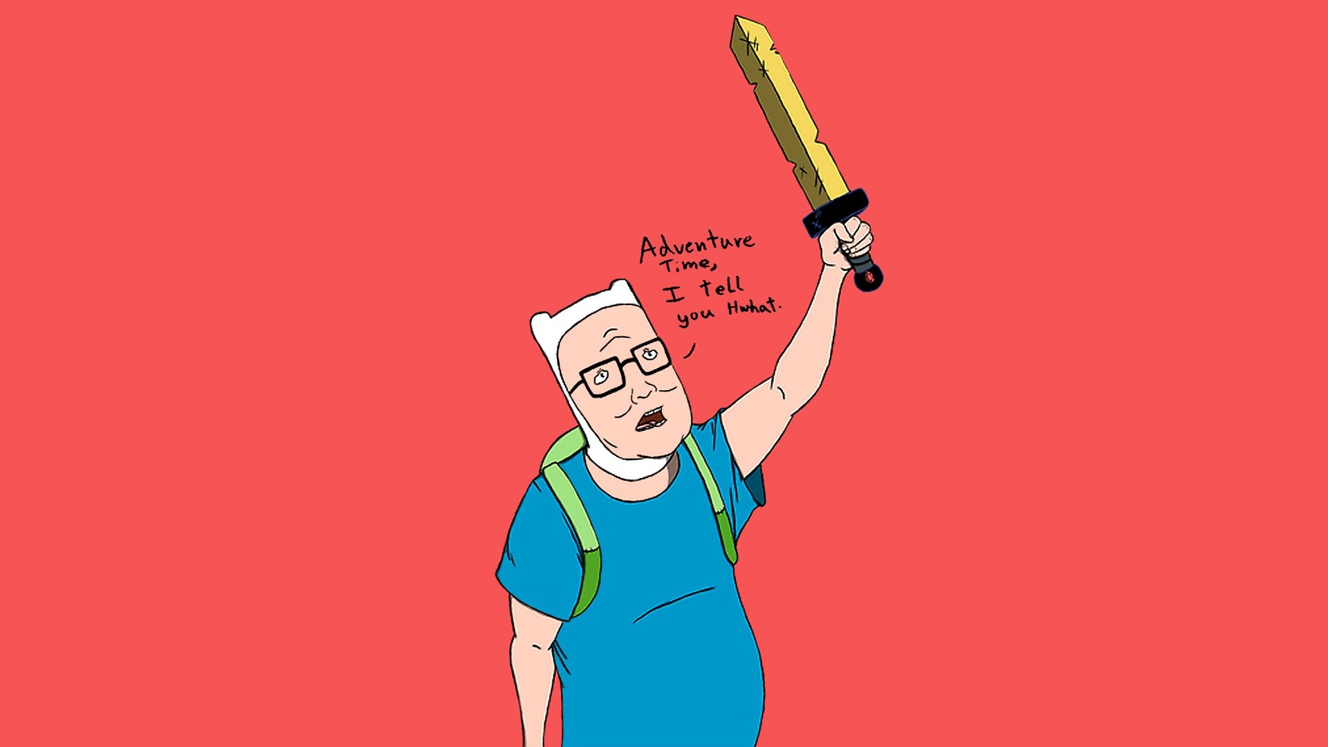 Adventure Time King Of The Hill Wallpaper