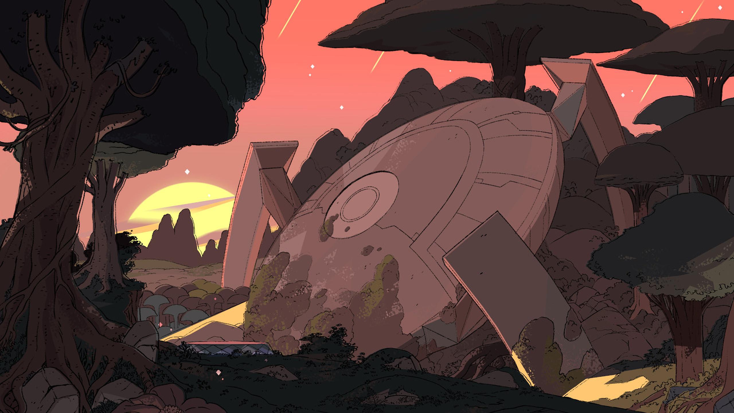 <b>Steven Universe</b>, Cartoon, Pearl, Field <