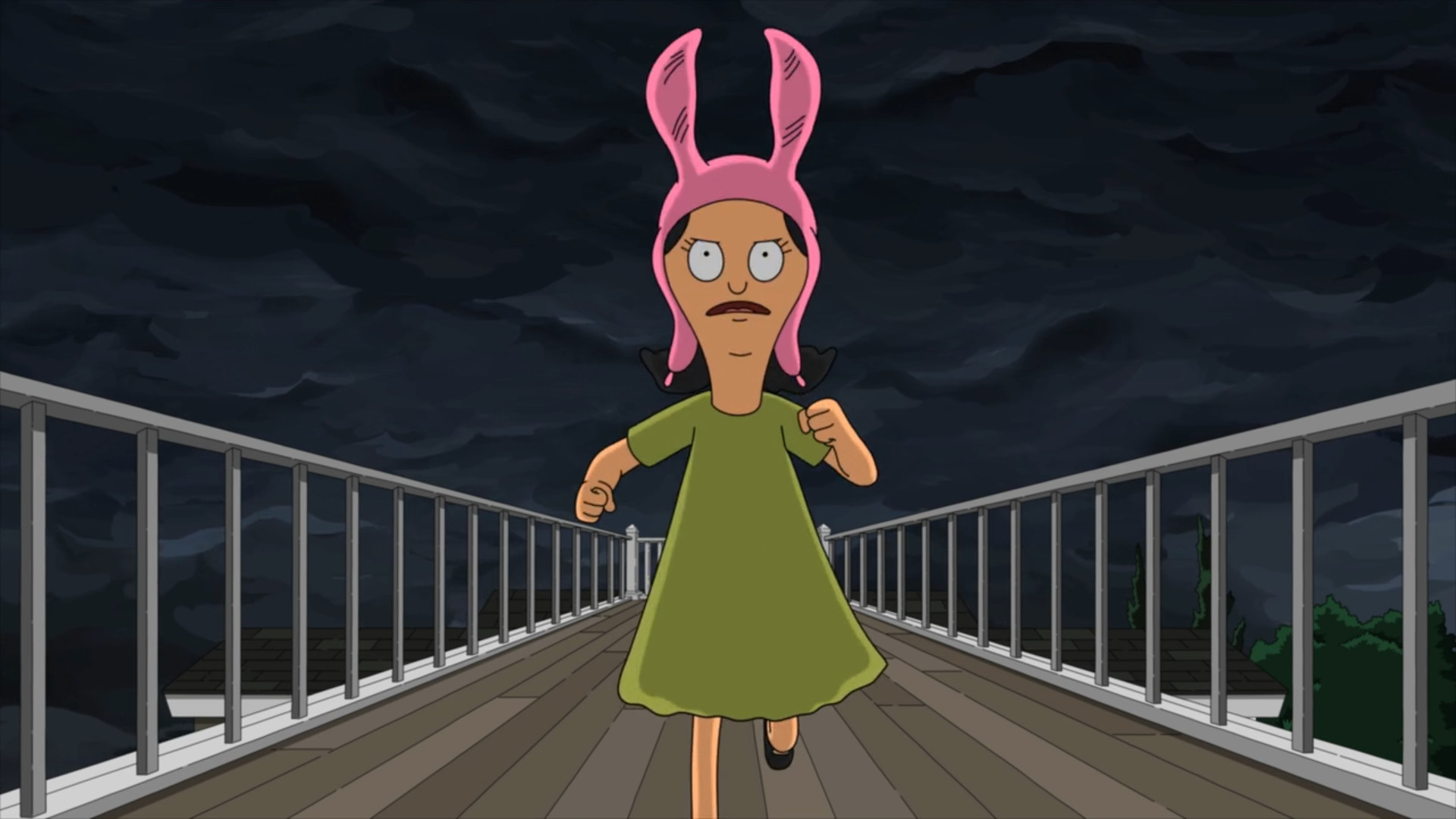 Another Louise wallpaper …