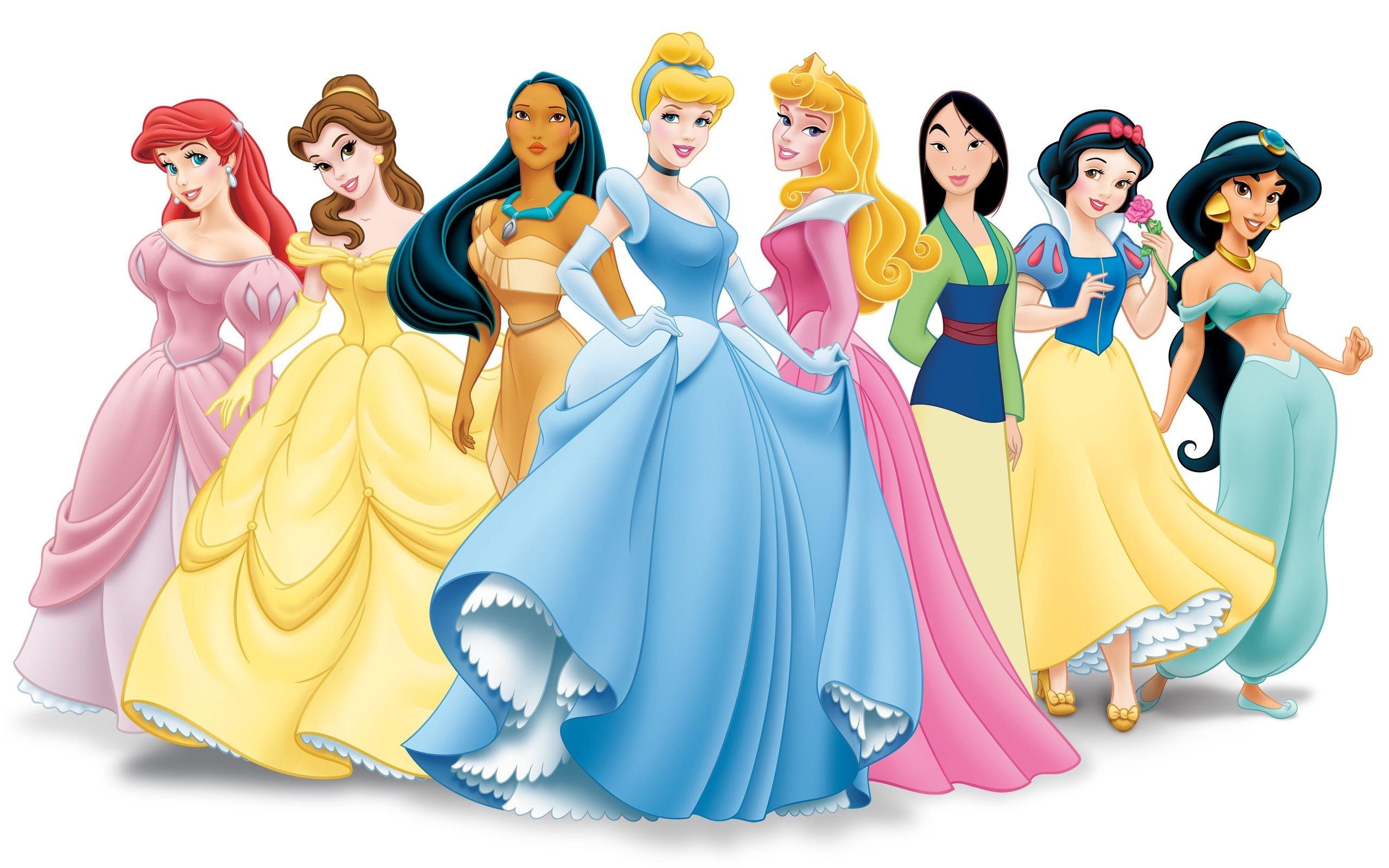 Disney Princess Wallpaper For the Bean