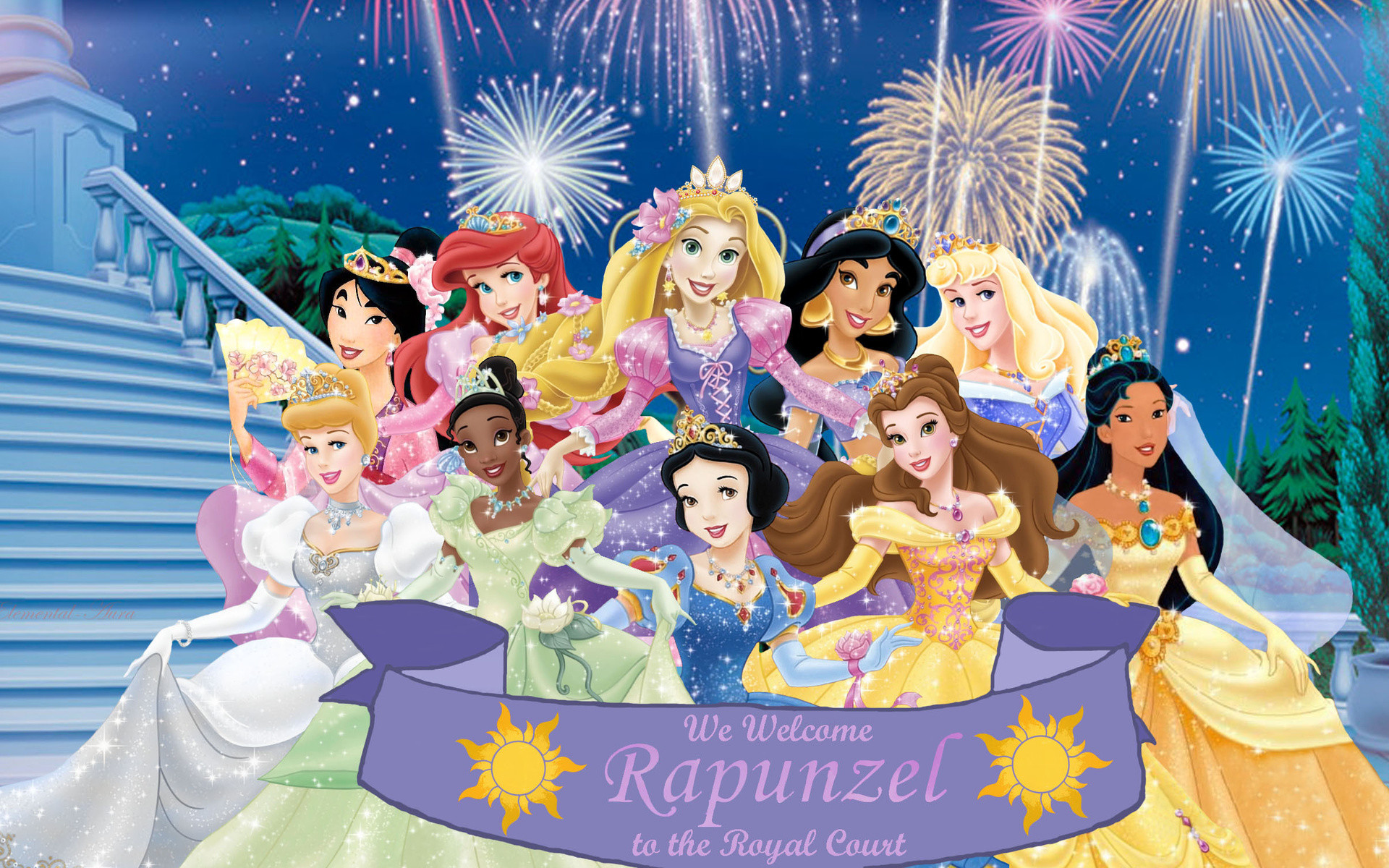 High Resolution Disney Princess Desktop Background Full Size .