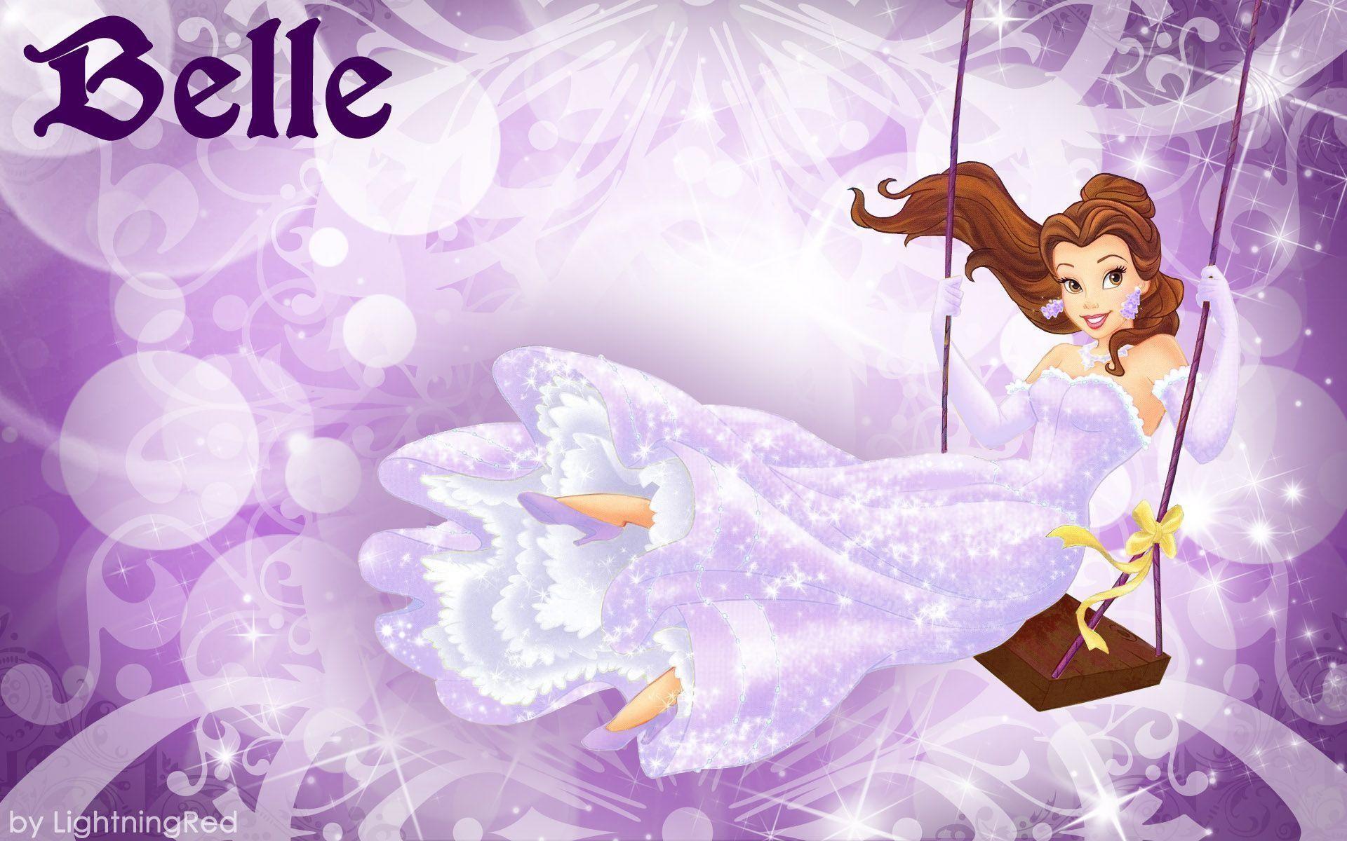 Purple Belle Wallpaper – Disney Princess Wallpaper (31673208) – Fanpop
