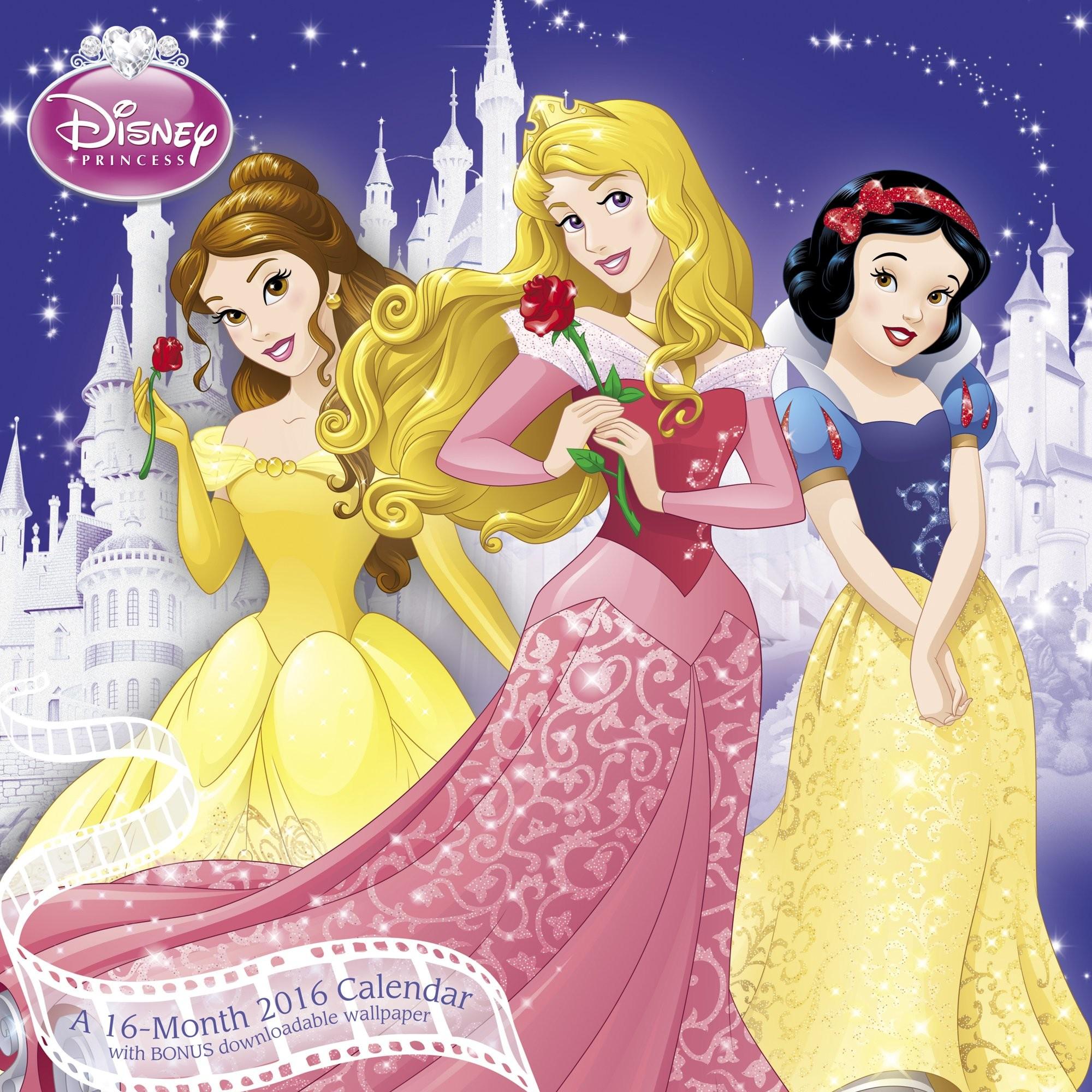 Disney Princess Wall Calendar (2016): Mead: 0038576364769: Amazon.com: Books