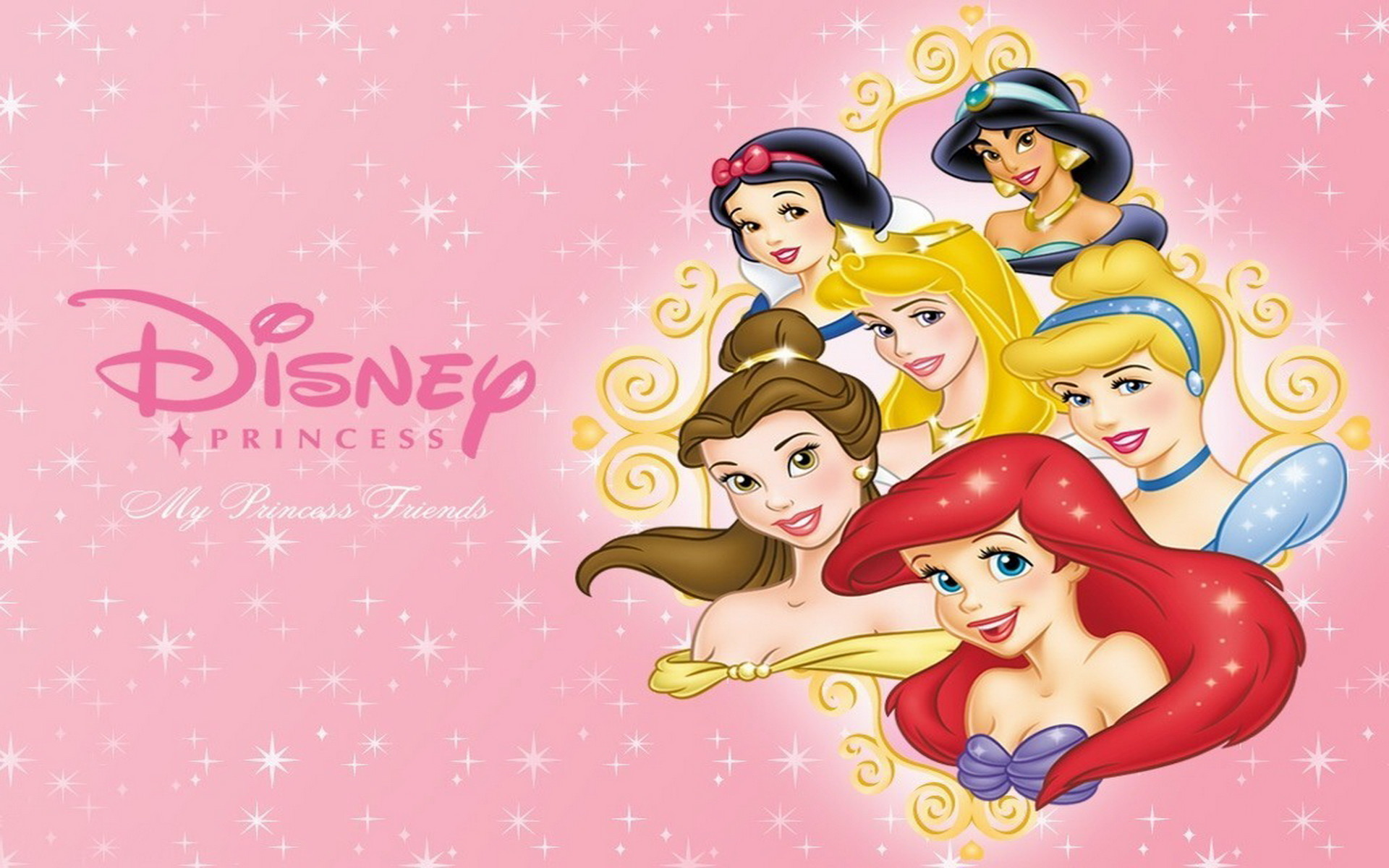 My Princess Friends Wallpapers
