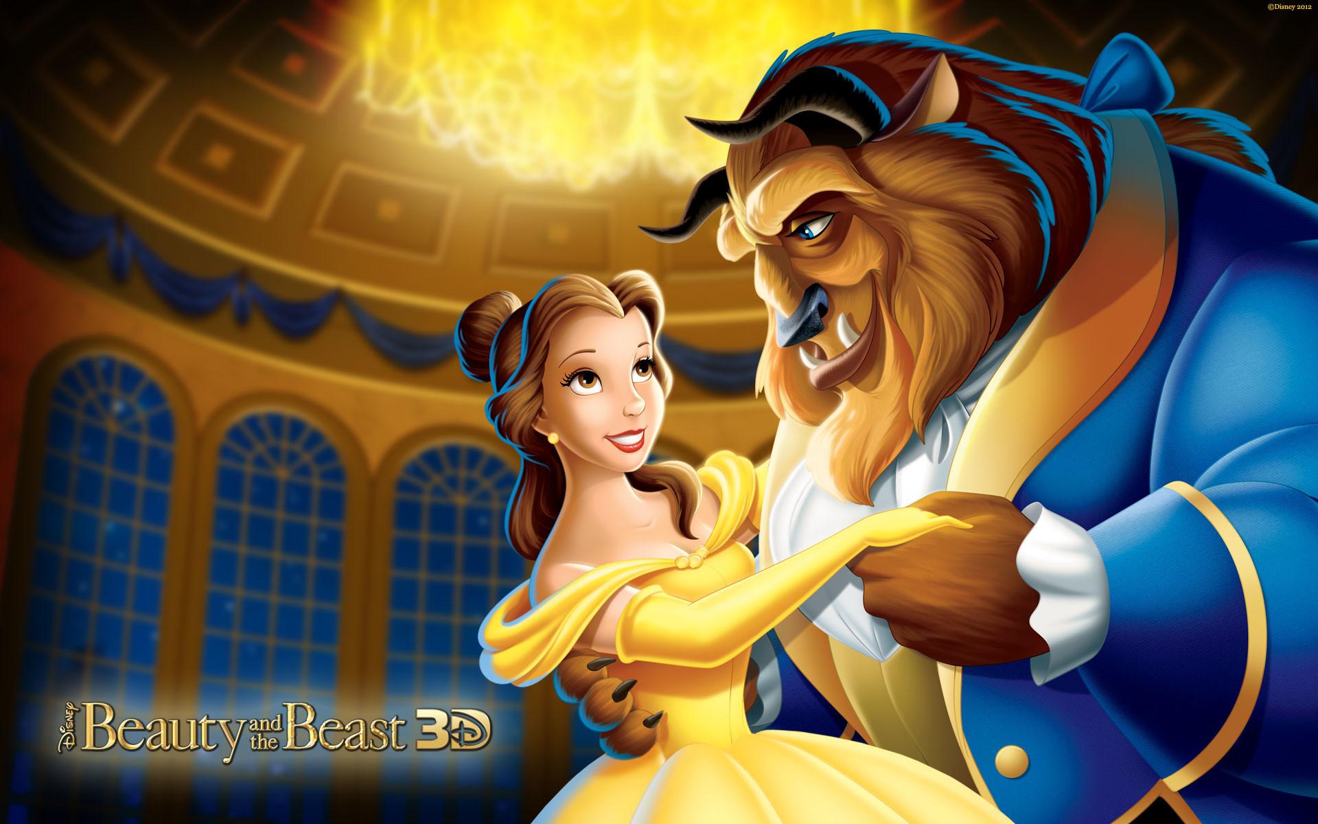 Disney Princess Belle And Beast