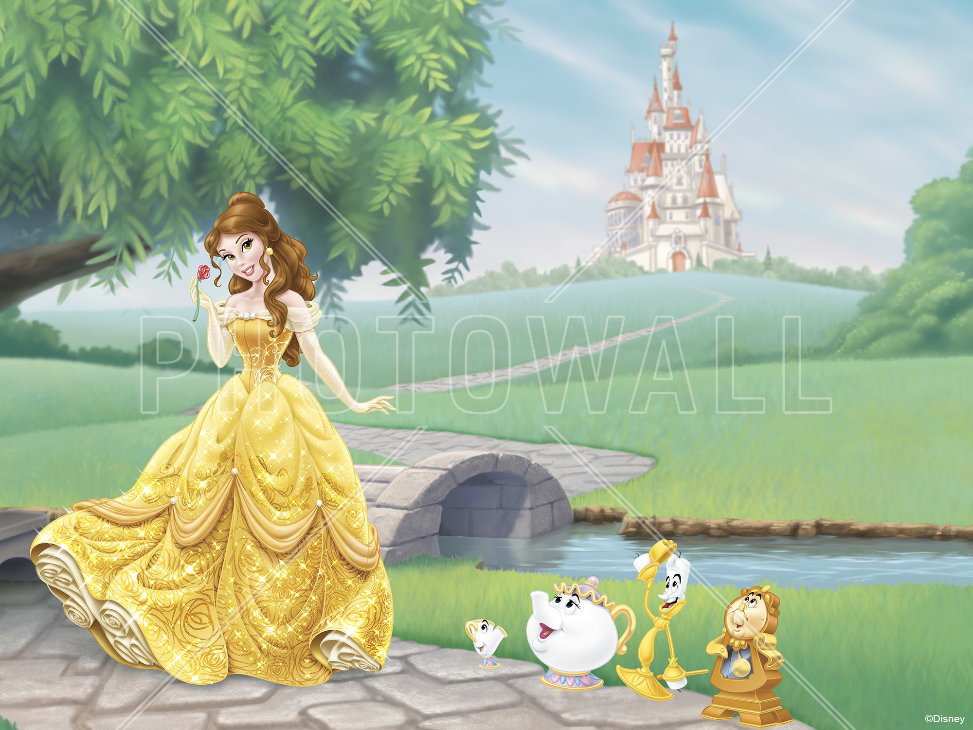 <b>Belle Wallpaper</b> – <b>disney</