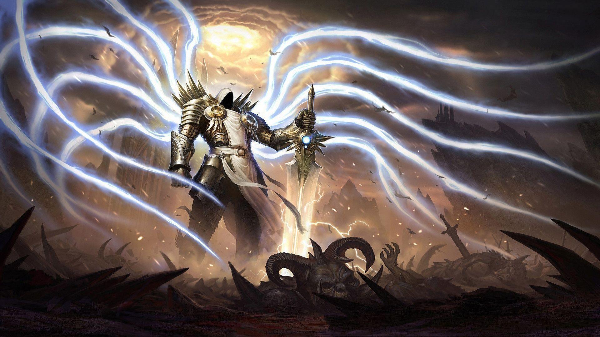 Tyrael archangel Wallpaper