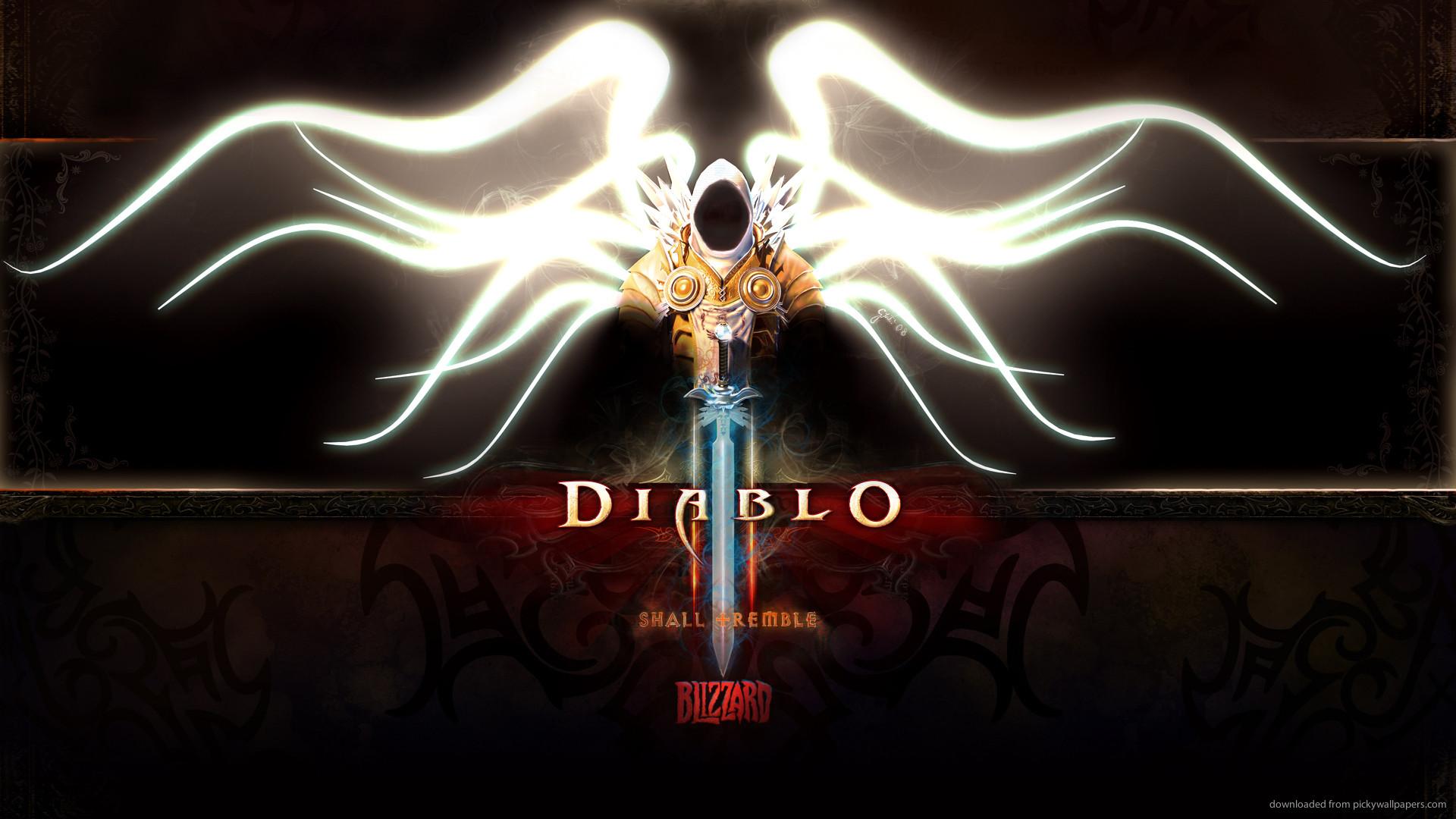Diablo 3 Tyrael for 1920×1080