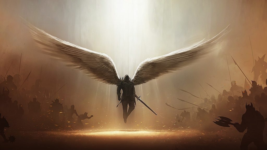 archangel, Fantasy Art, Diablo, Tyrael Wallpapers HD / Desktop and Mobile  Backgrounds
