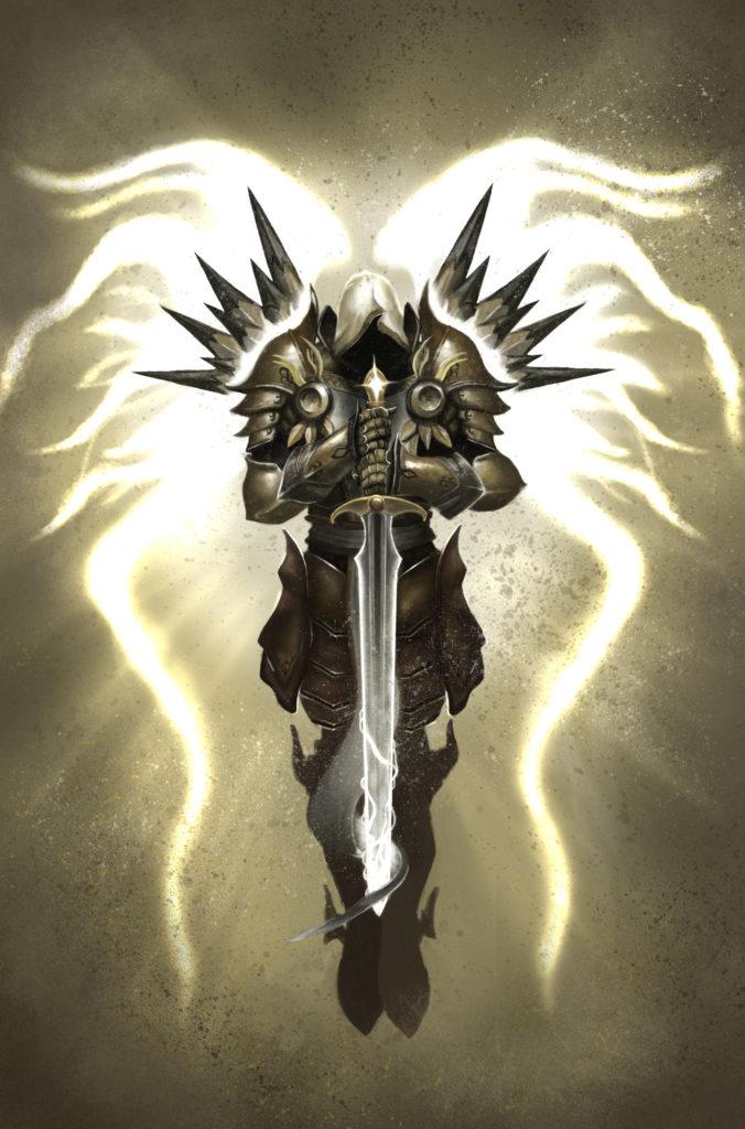 … ShidiwenBrown Tyrael, Archangel of Justice. by ShidiwenBrown